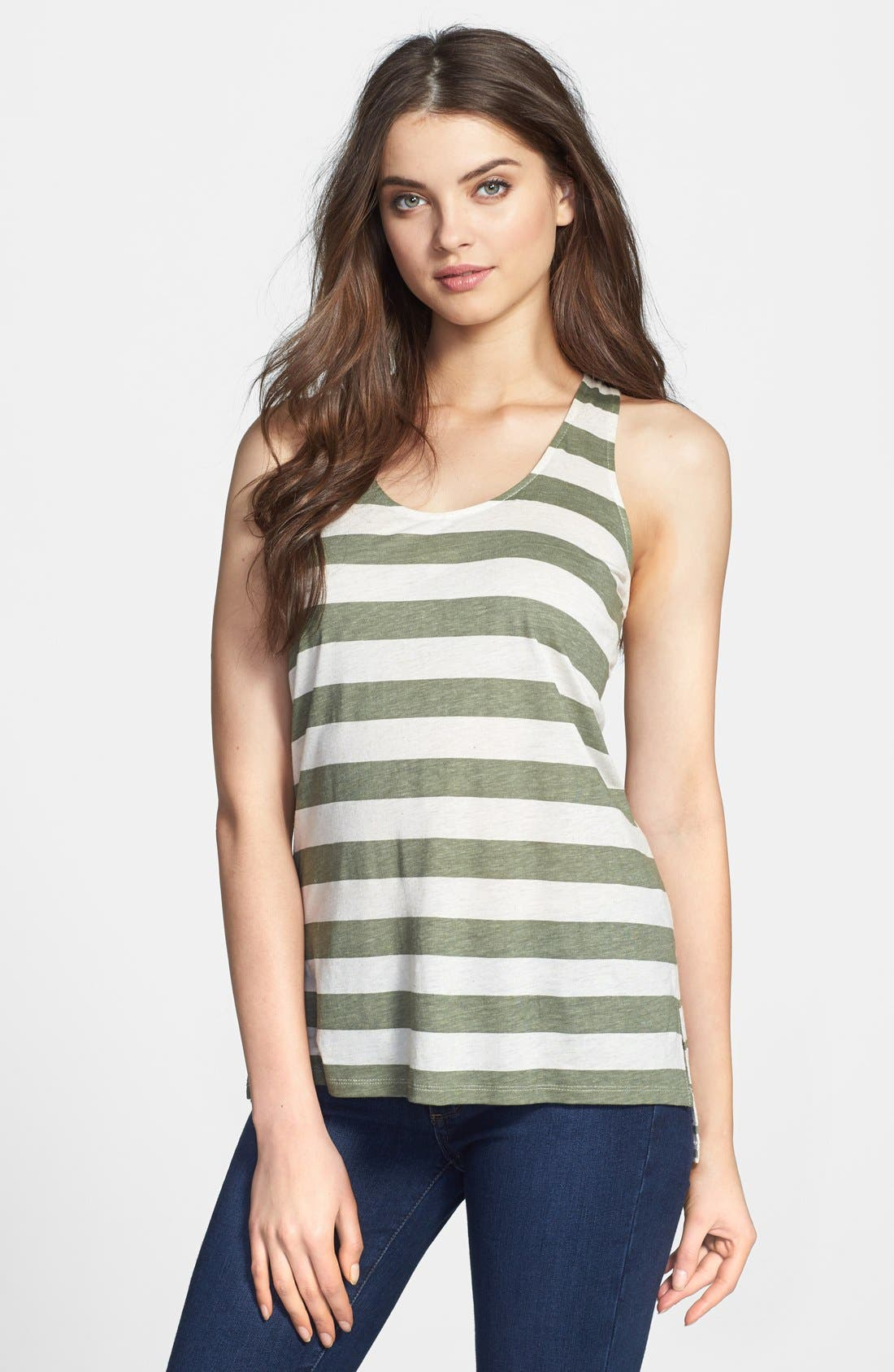 Main Image - Two by Vince Camuto 'Desert' Bold Stripe Tank