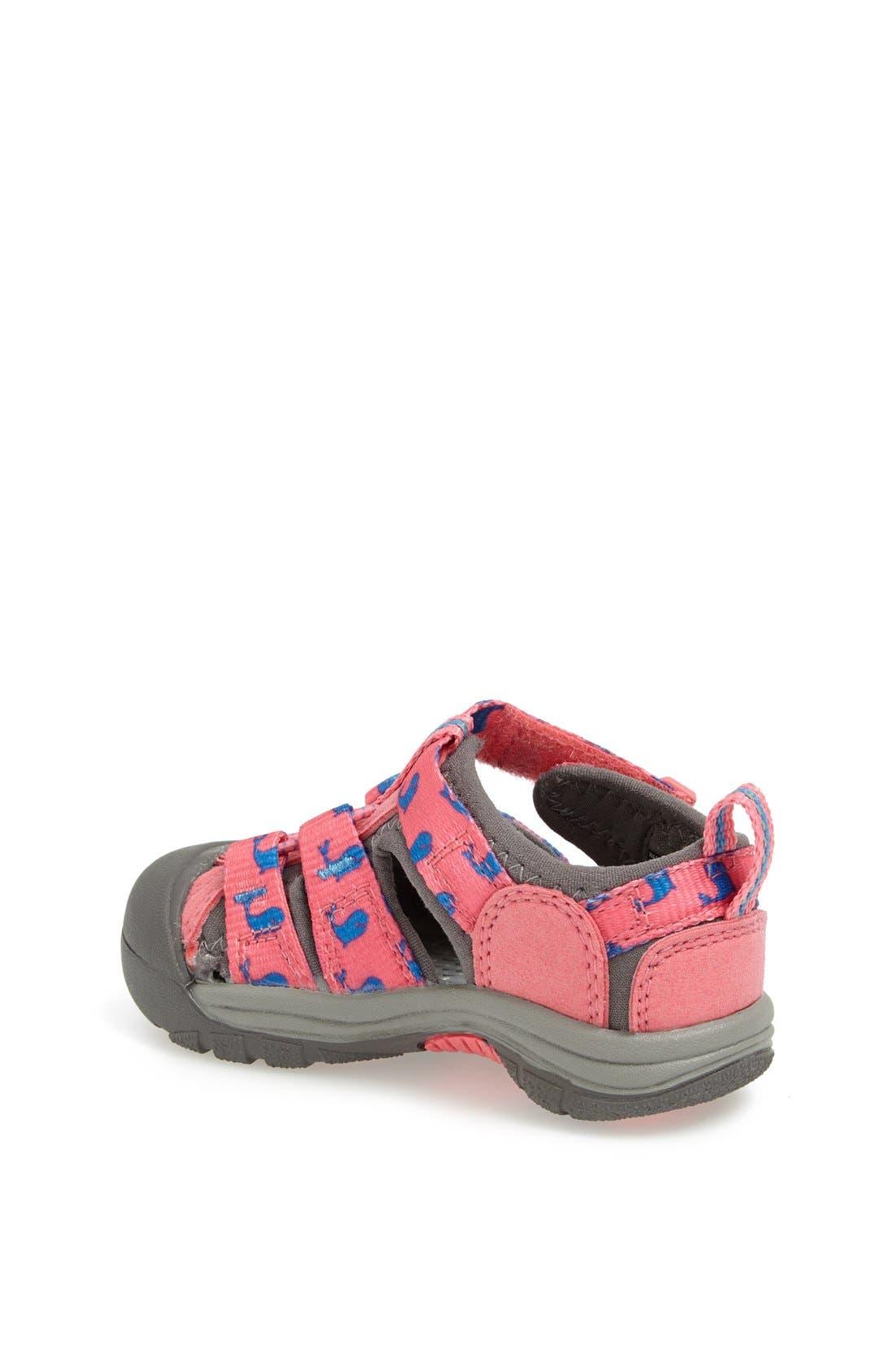 Alternate Image 2  - Keen 'Newport H2' Print Sandal (Baby & Walker)