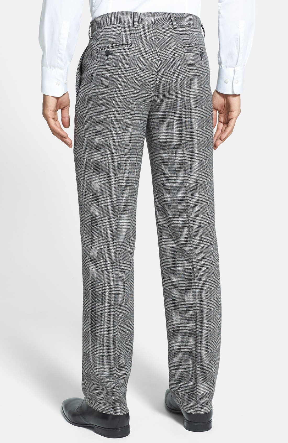 Alternate Image 3  - John Varvatos Star USA Glen Plaid Trousers