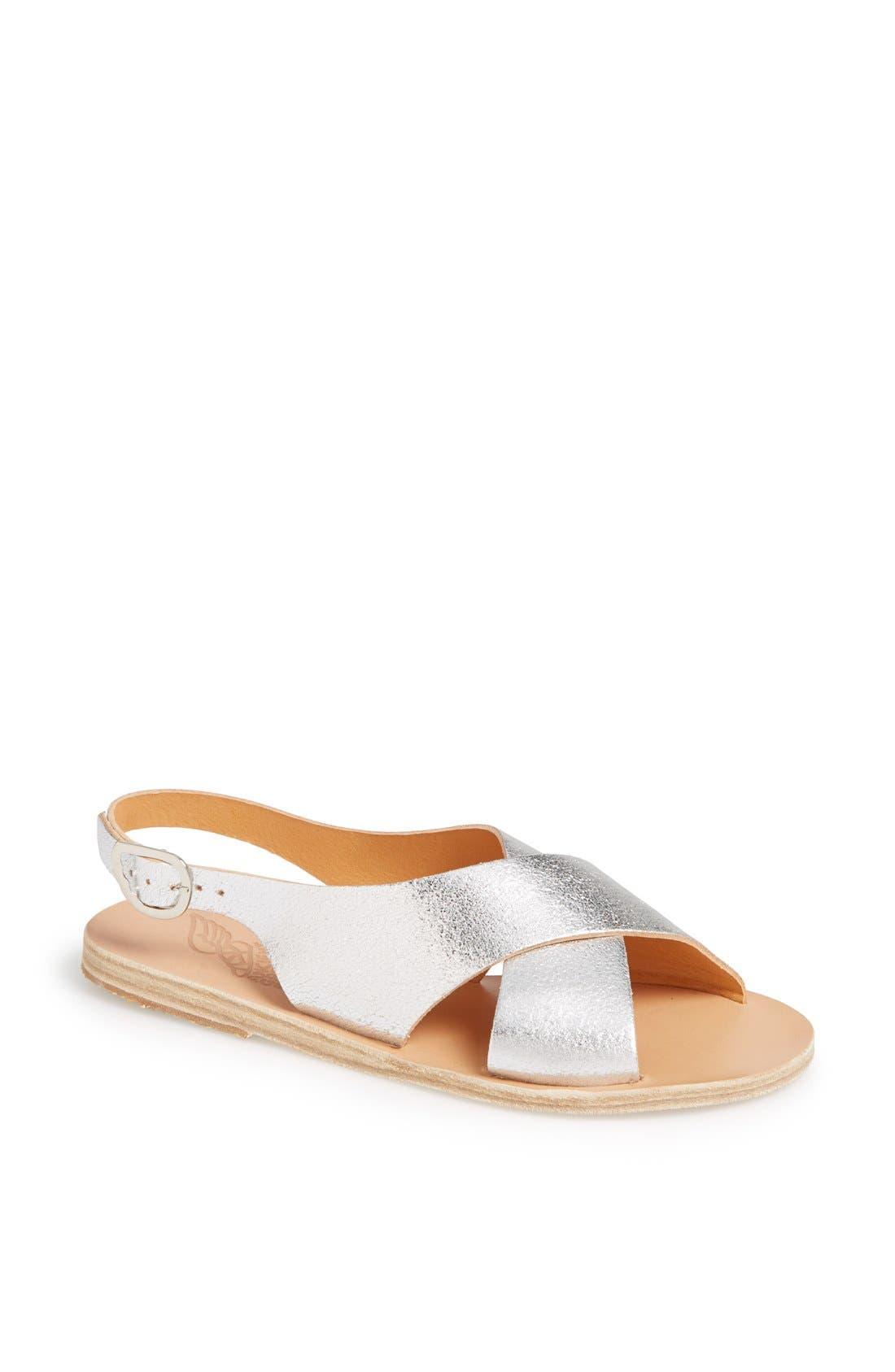 Alternate Image 1 Selected - Ancient Greek Sandals 'Maria' Leather Slingback Sandal