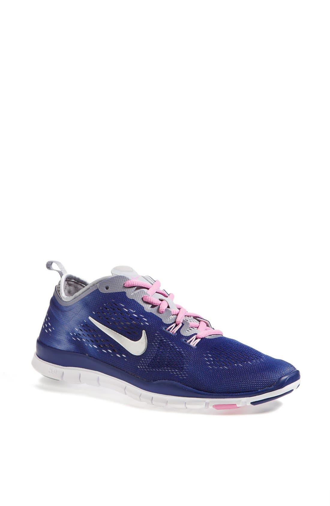 Alternate Image 1 Selected - Nike 'Free 5.0 Fit' Tie Dye Training Shoe (Women)