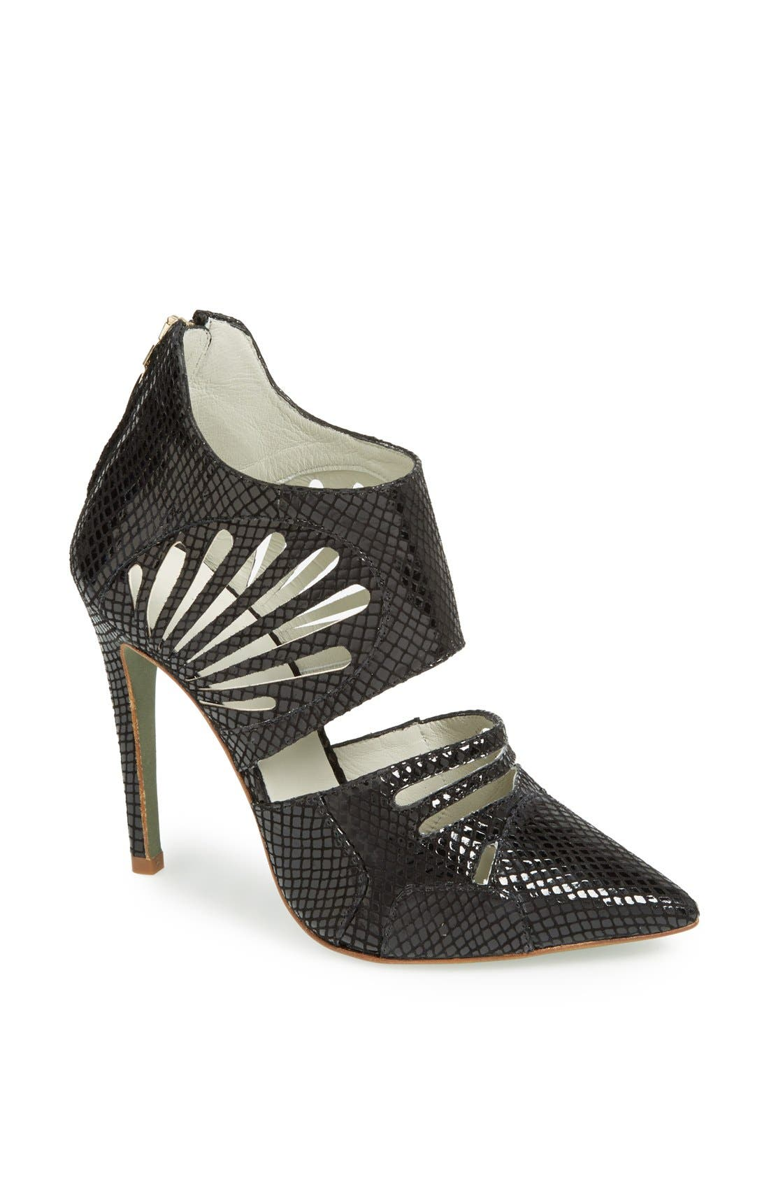 Alternate Image 1 Selected - Plomo 'Cecile' Leather Bootie