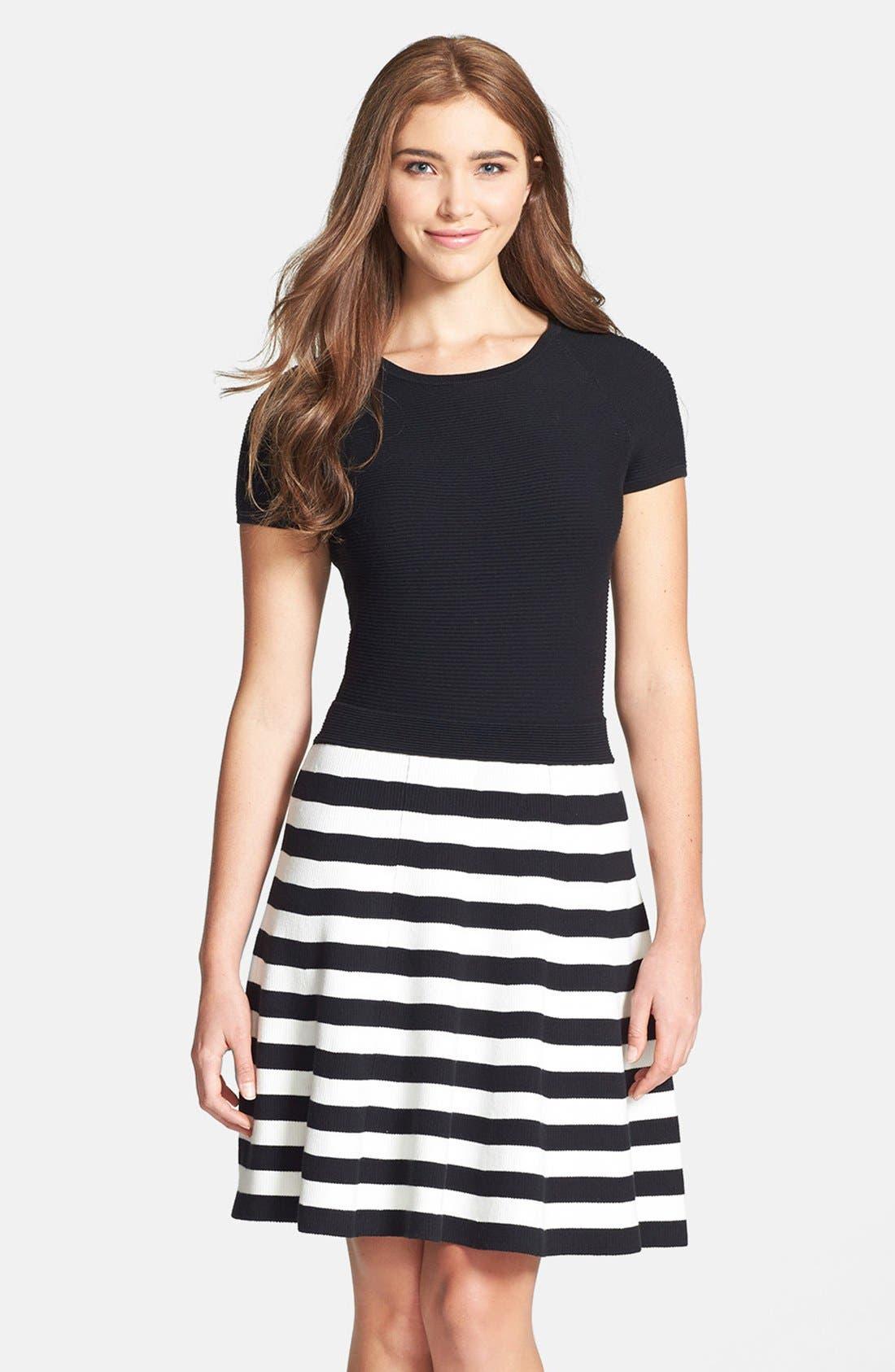 Alternate Image 1 Selected - Trina Turk 'Cosumel' Cotton & Modal Dress