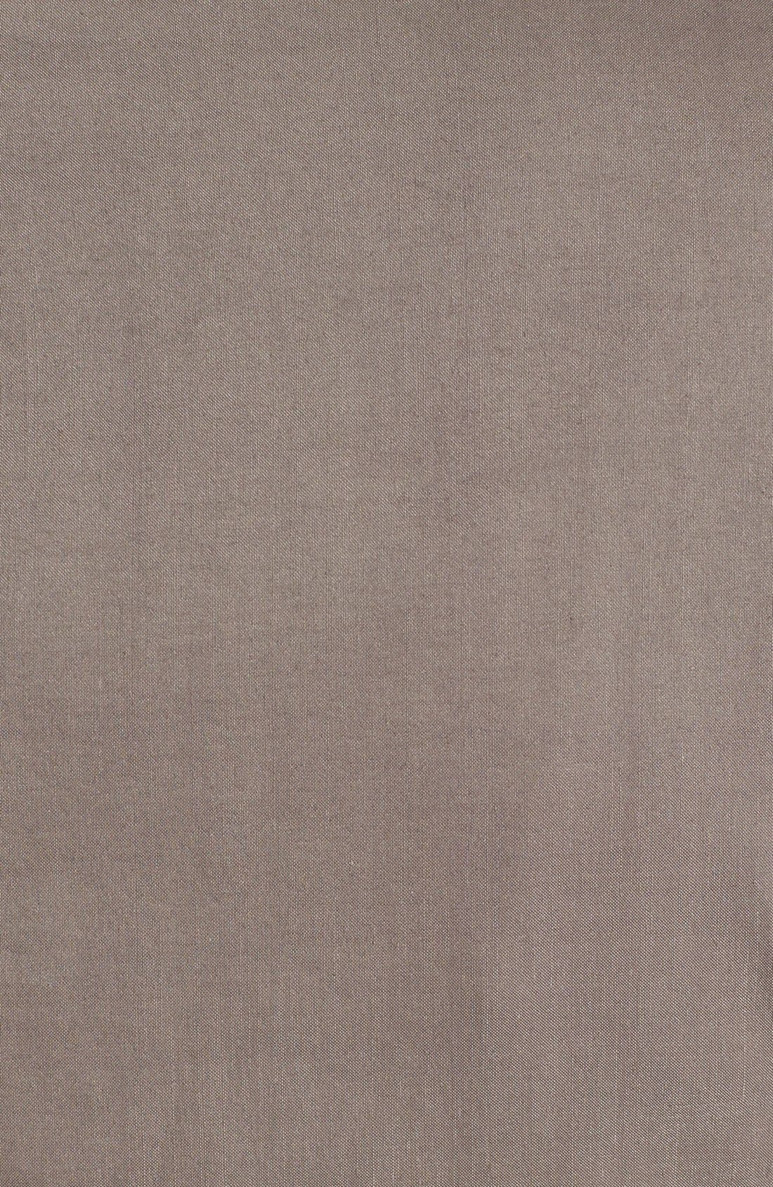 Alternate Image 3  - Eileen Fisher High Collar Peplum Jacket (Regular & Petite)