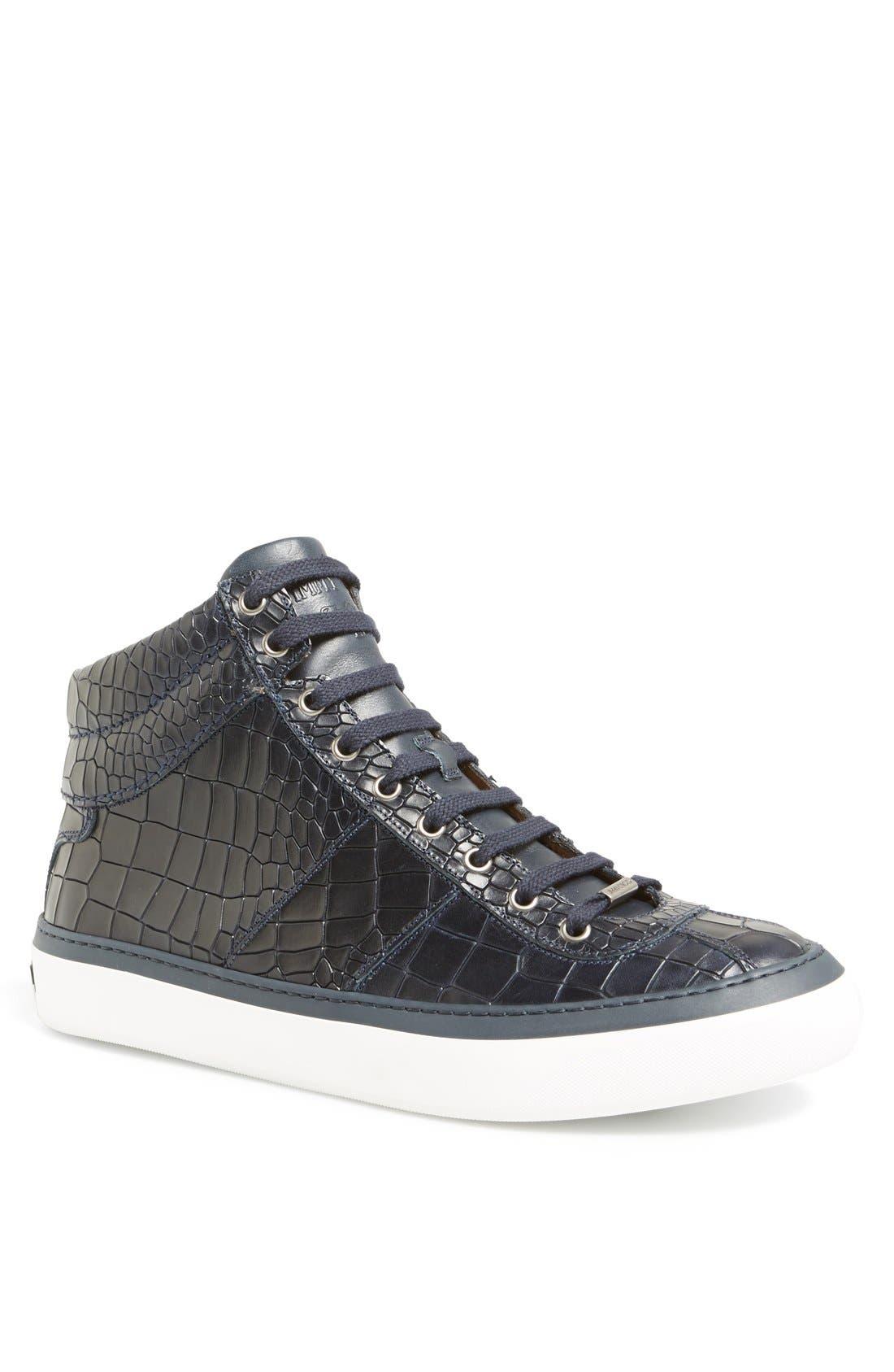 Jimmy Choo Belgravia High Top Sneaker