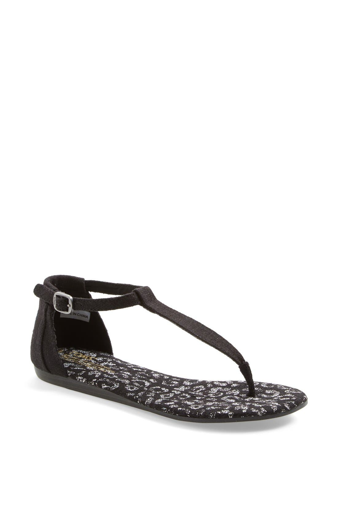 Alternate Image 1 Selected - TOMS 'Playa' Thong Sandal (Women)