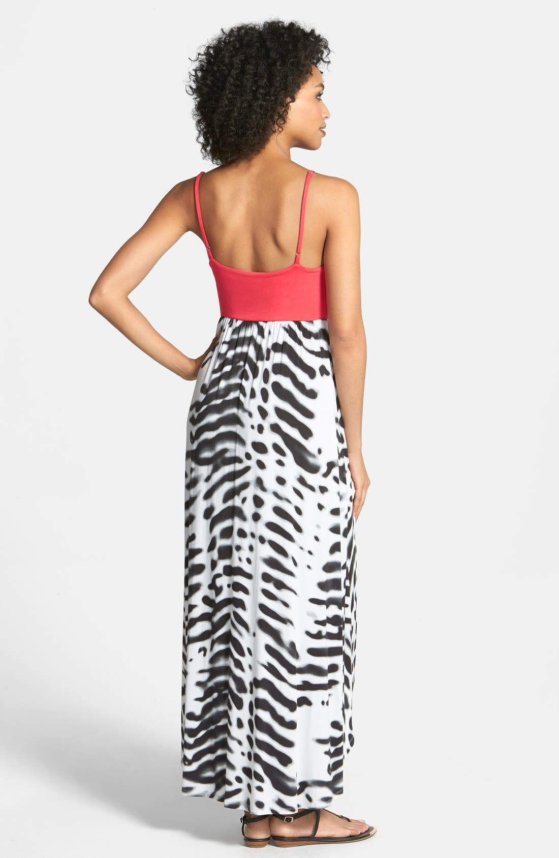 Alternate Image 2  - Felicity & Coco Jersey High/Low Maxi Dress (Nordstrom Exclusive)