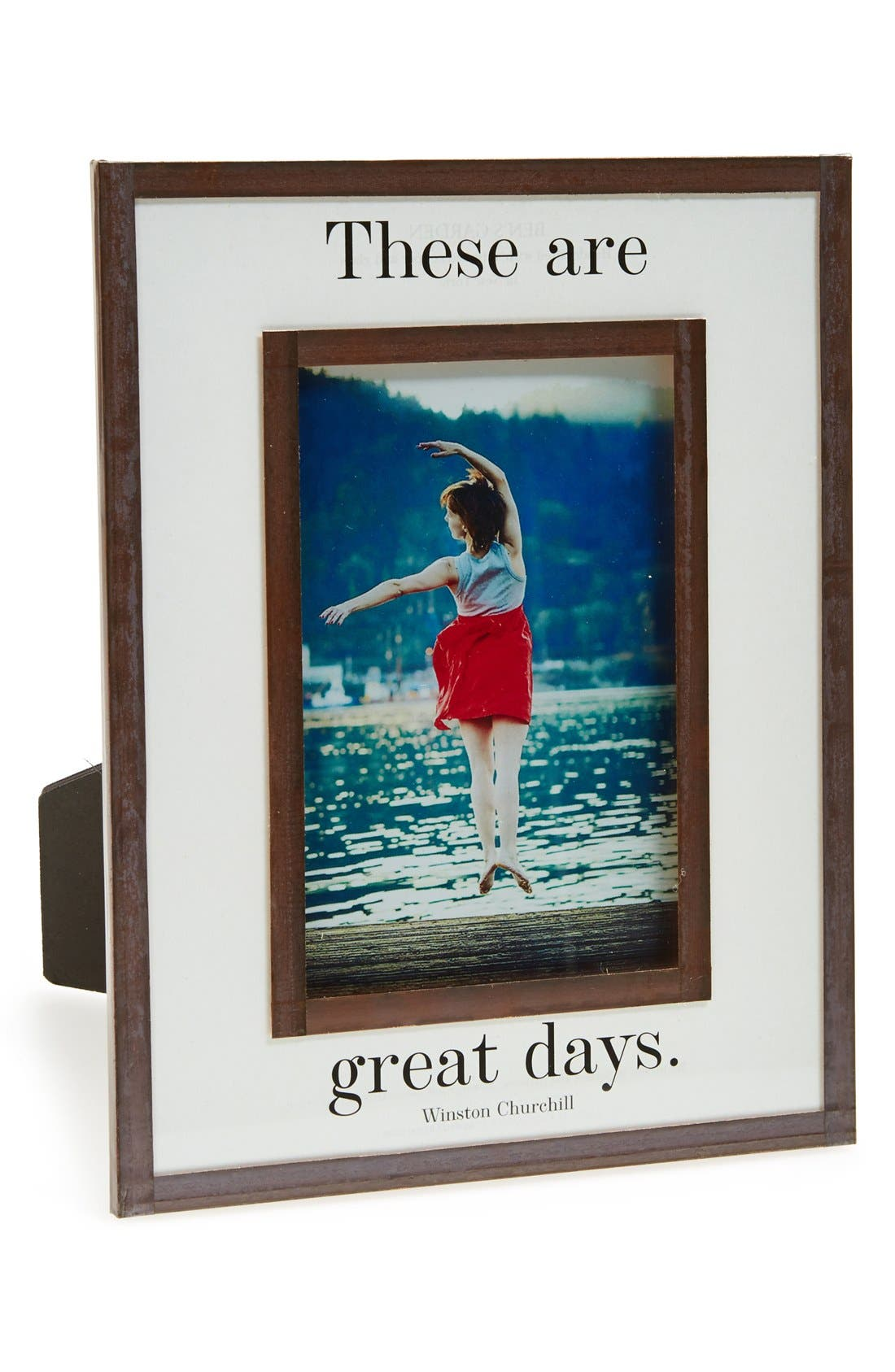 Alternate Image 1 Selected - Ben's Garden 'These Are Great Days' Picture Frame