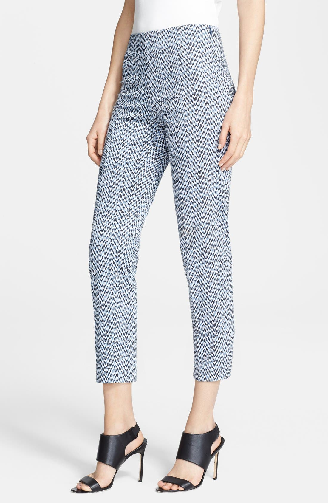 Alternate Image 1 Selected - Armani Collezioni Mosaic Print Pants