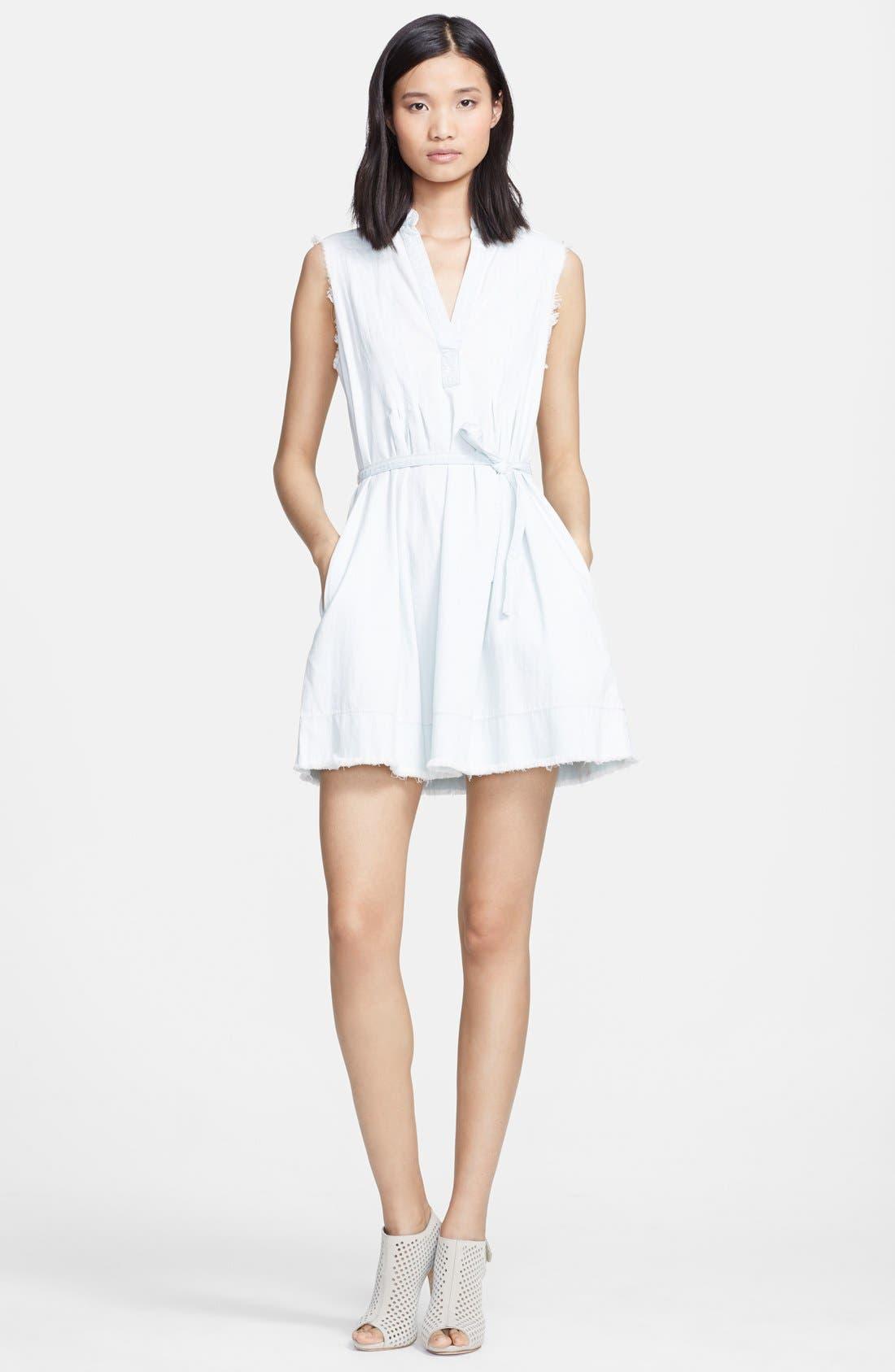 Alternate Image 1 Selected - Current/Elliott 'The Craftsman Smock' Cotton Dress