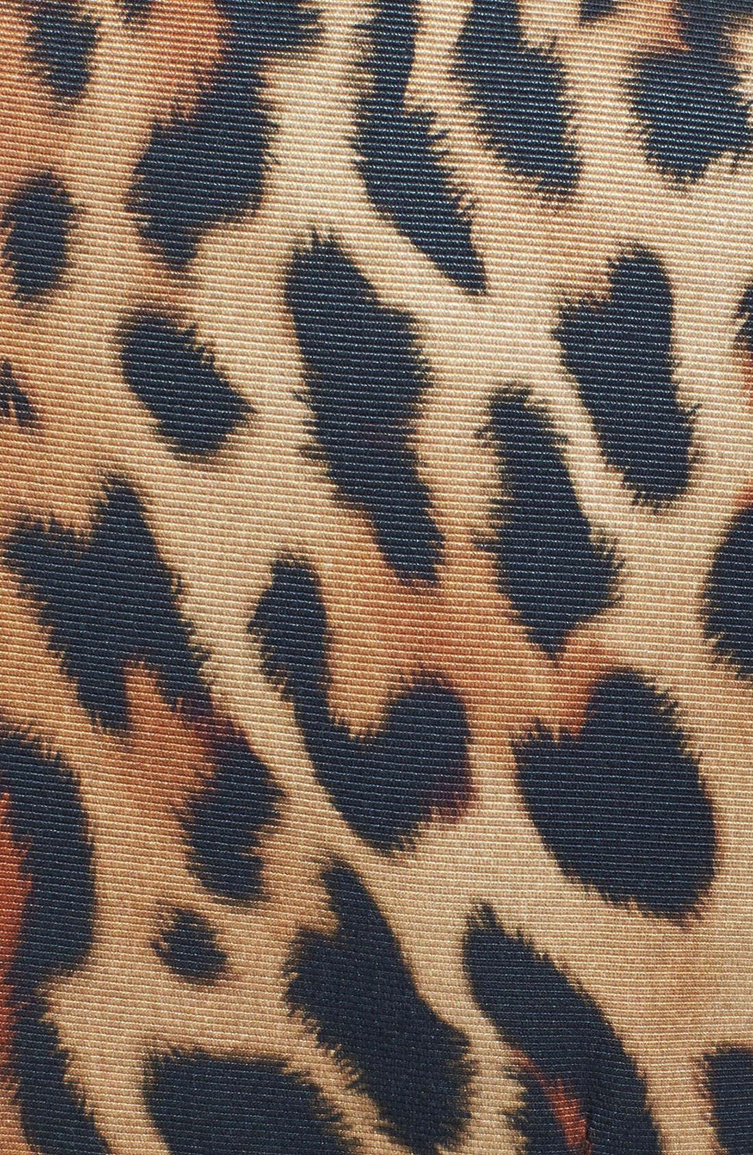 Alternate Image 3  - ESCADA Leopard Print Dress