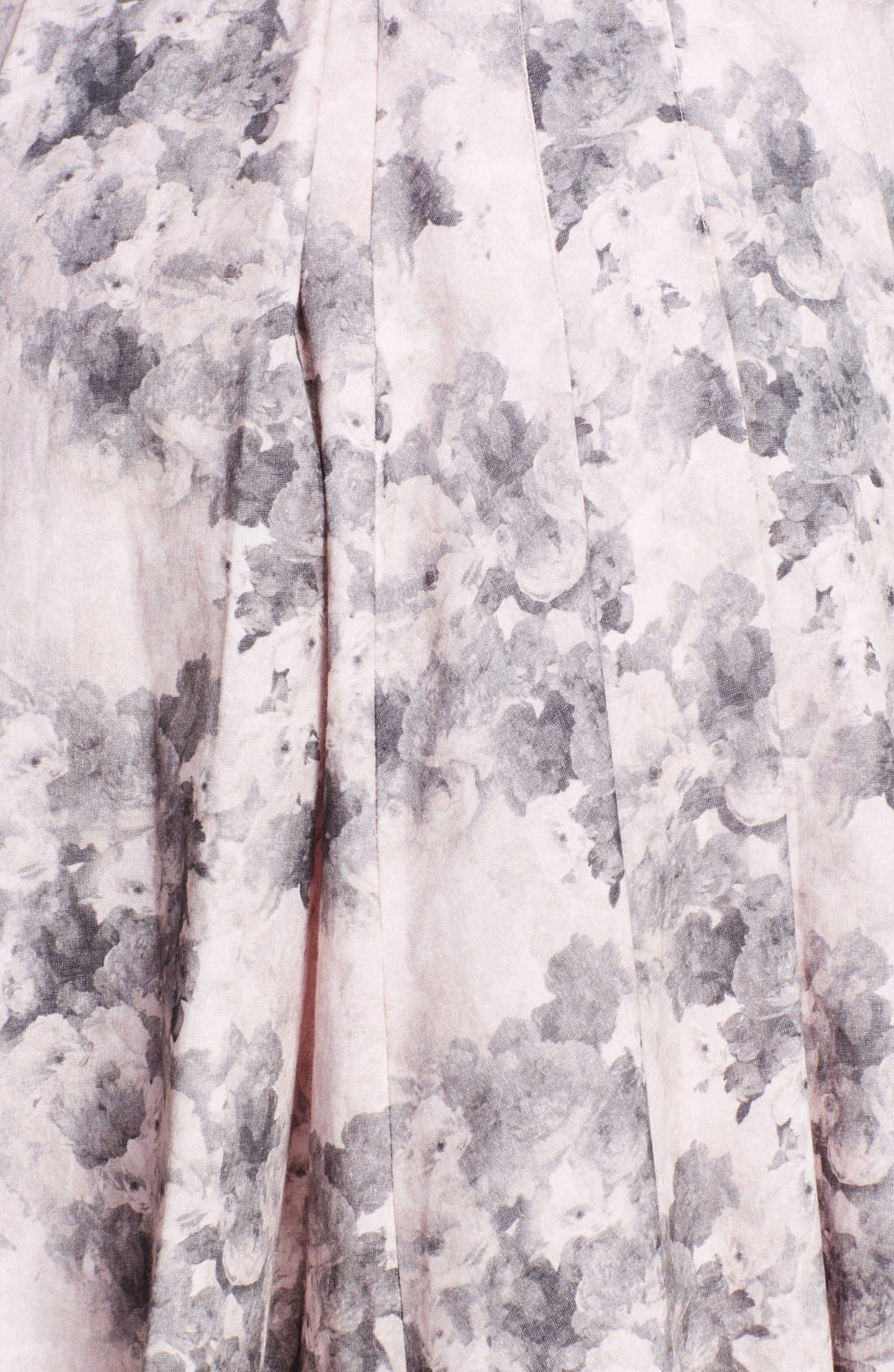 Alternate Image 3  - Robert Rodriguez Bonded Floral Print Dress