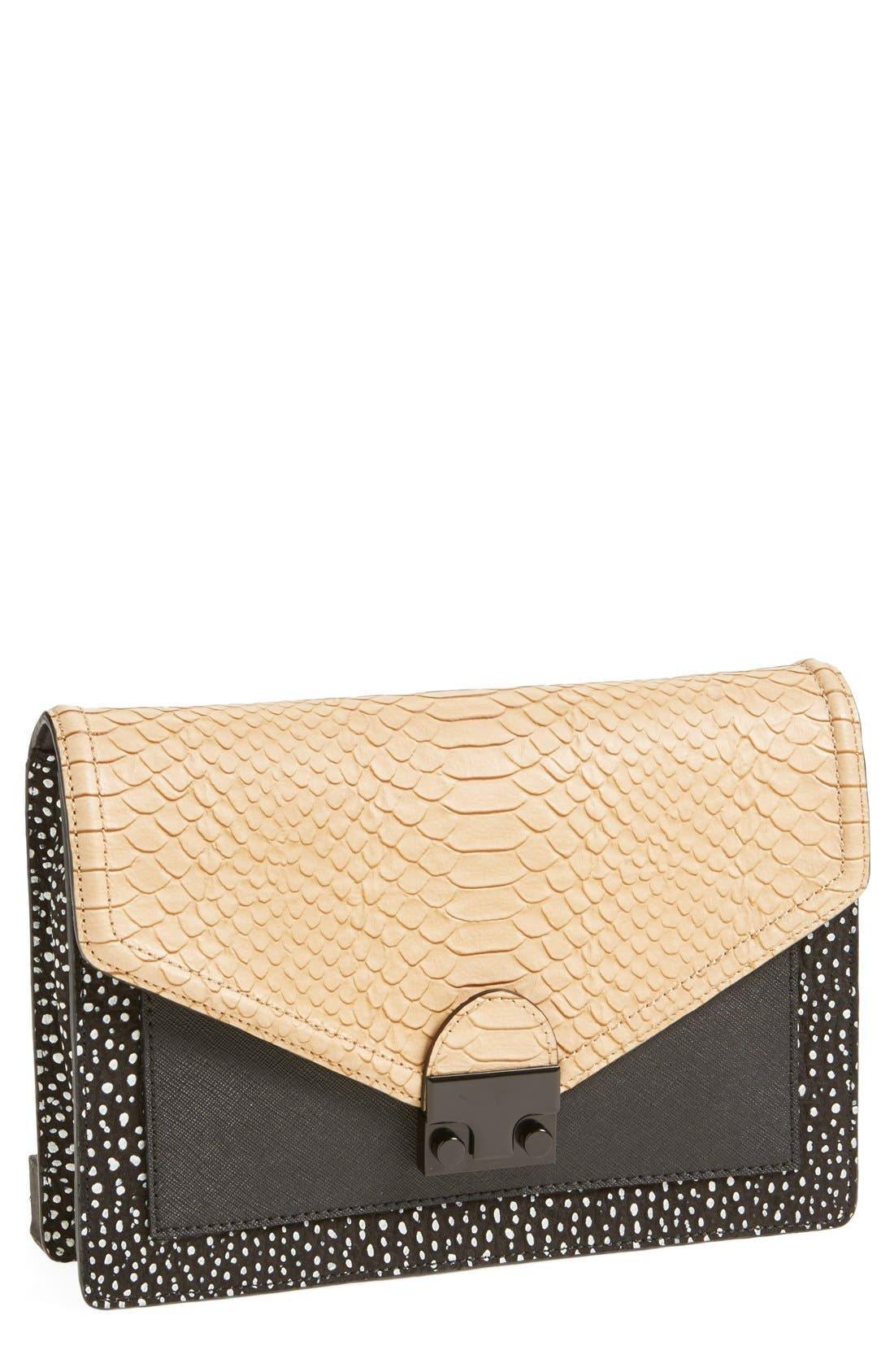 Alternate Image 1 Selected - Loeffler Randall 'Rider' Clutch