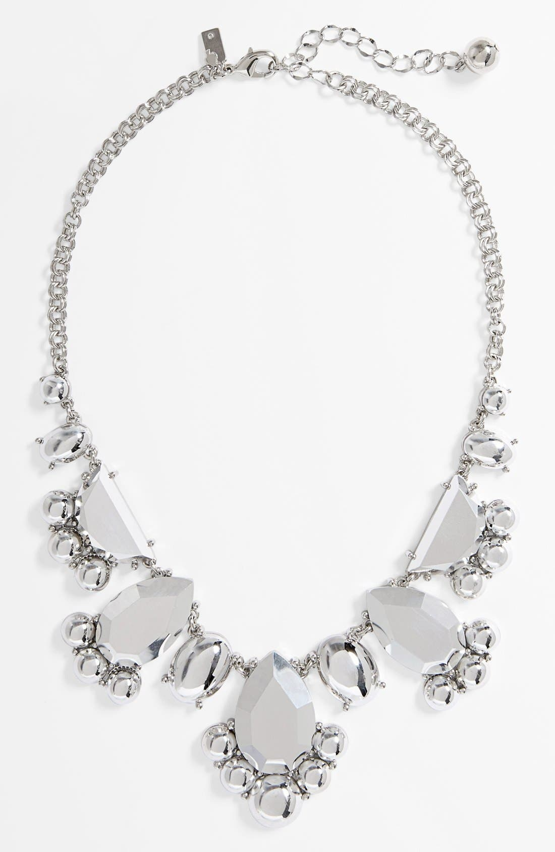 Main Image - kate spade new york 'day tripper' metallic bib necklace