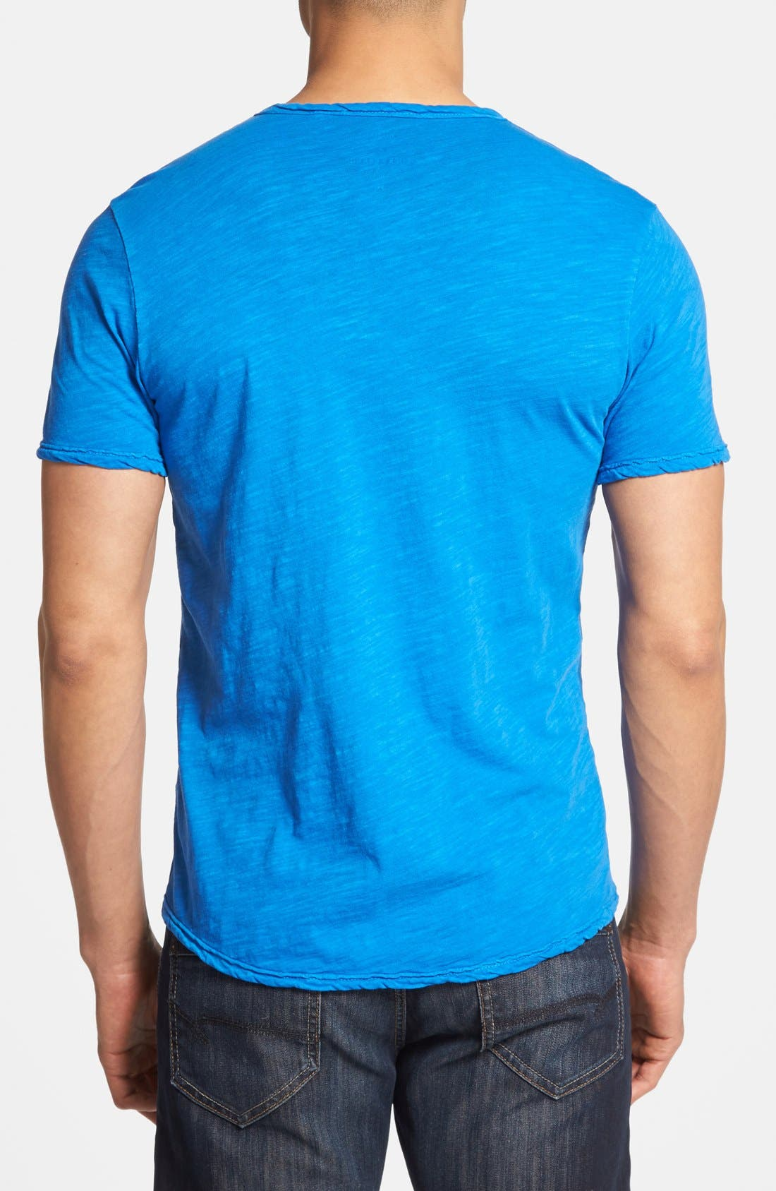 Alternate Image 2  - Lucky Brand Notch Neck T-Shirt
