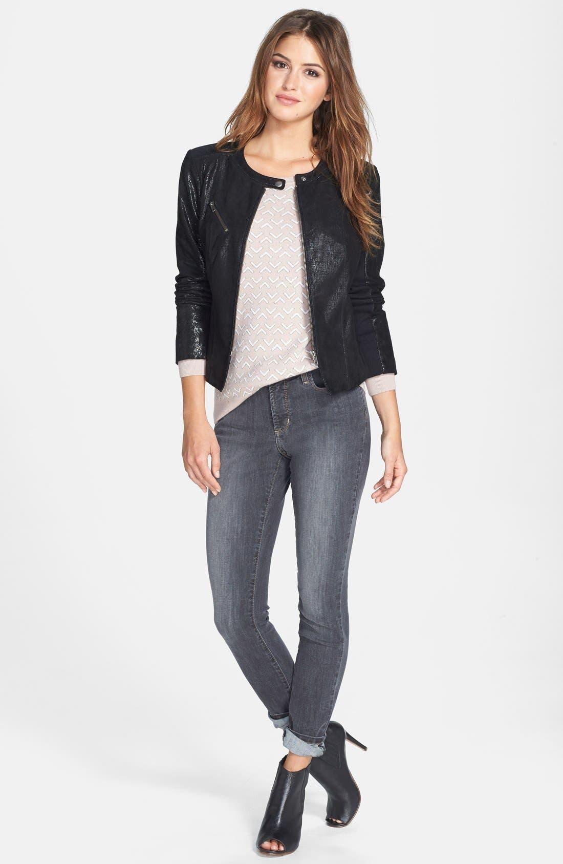 Alternate Image 5  - NYDJ 'Ami' Stretch Skinny Jeans (Dakota) (Regular & Petite)