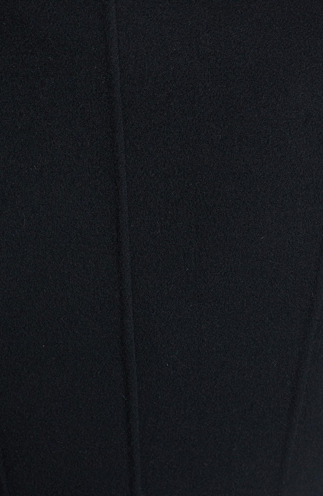 Alternate Image 3  - Mackage 'Hemy' Leather Sleeve Asymmetrical Long Coat