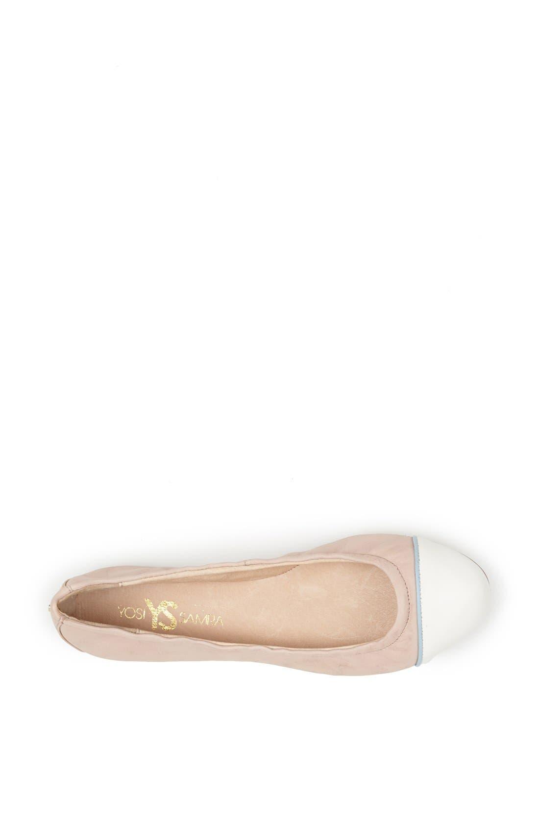 Alternate Image 3  - Yosi Samra 'Marni' Foldable Ballet Flat