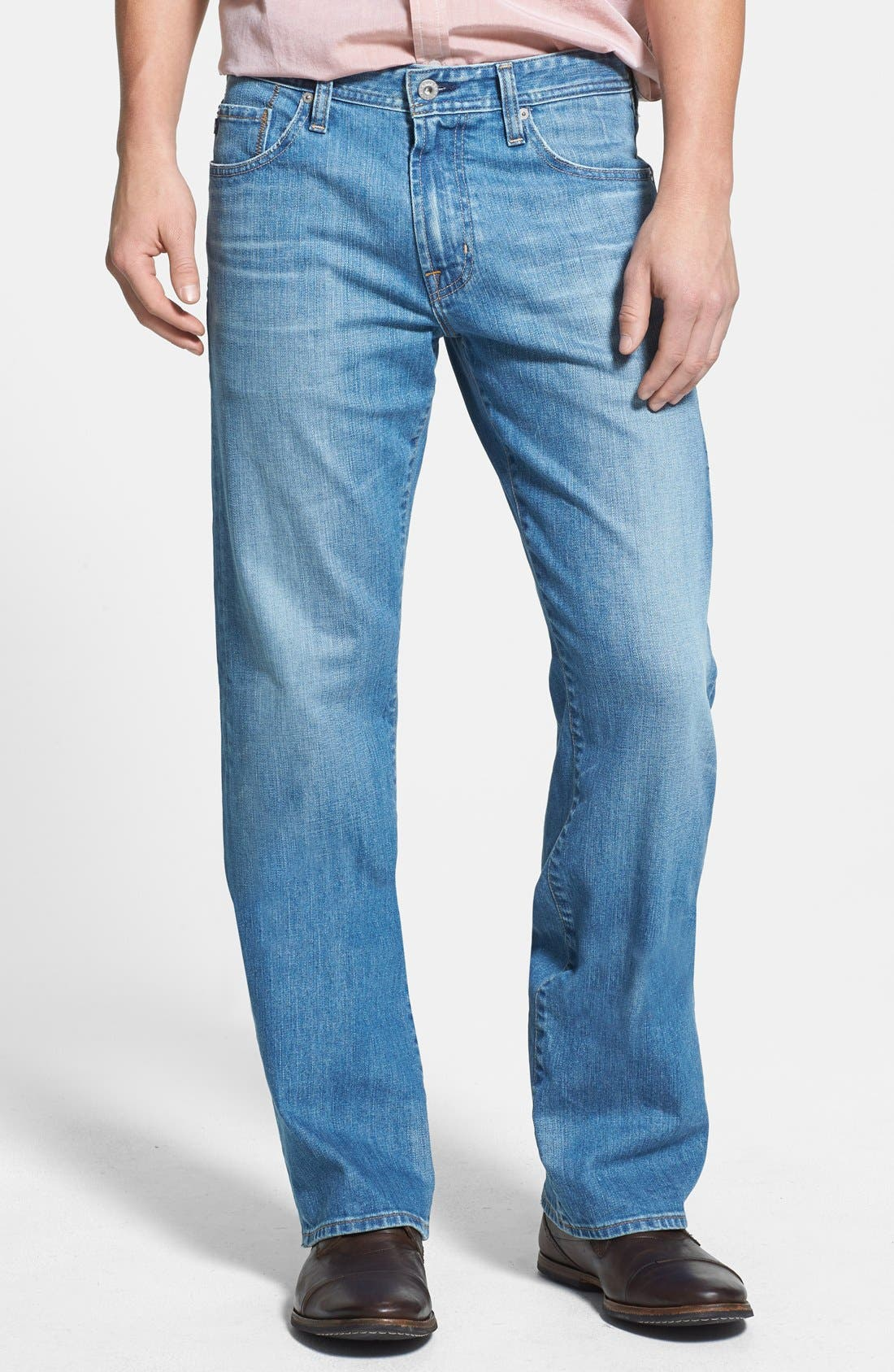 Alternate Image 1 Selected - AG 'Hero' Relaxed Fit Jeans (Max) (Online Only)