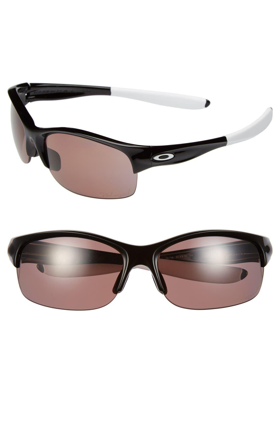 Alternate Image 1 Selected - Oakley 'Commit®' 62mm Polarized Sunglasses