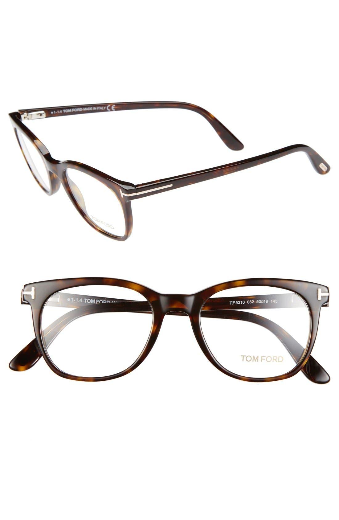 Alternate Image 1 Selected - Tom Ford 50mm Optical Glasses (Online Only)