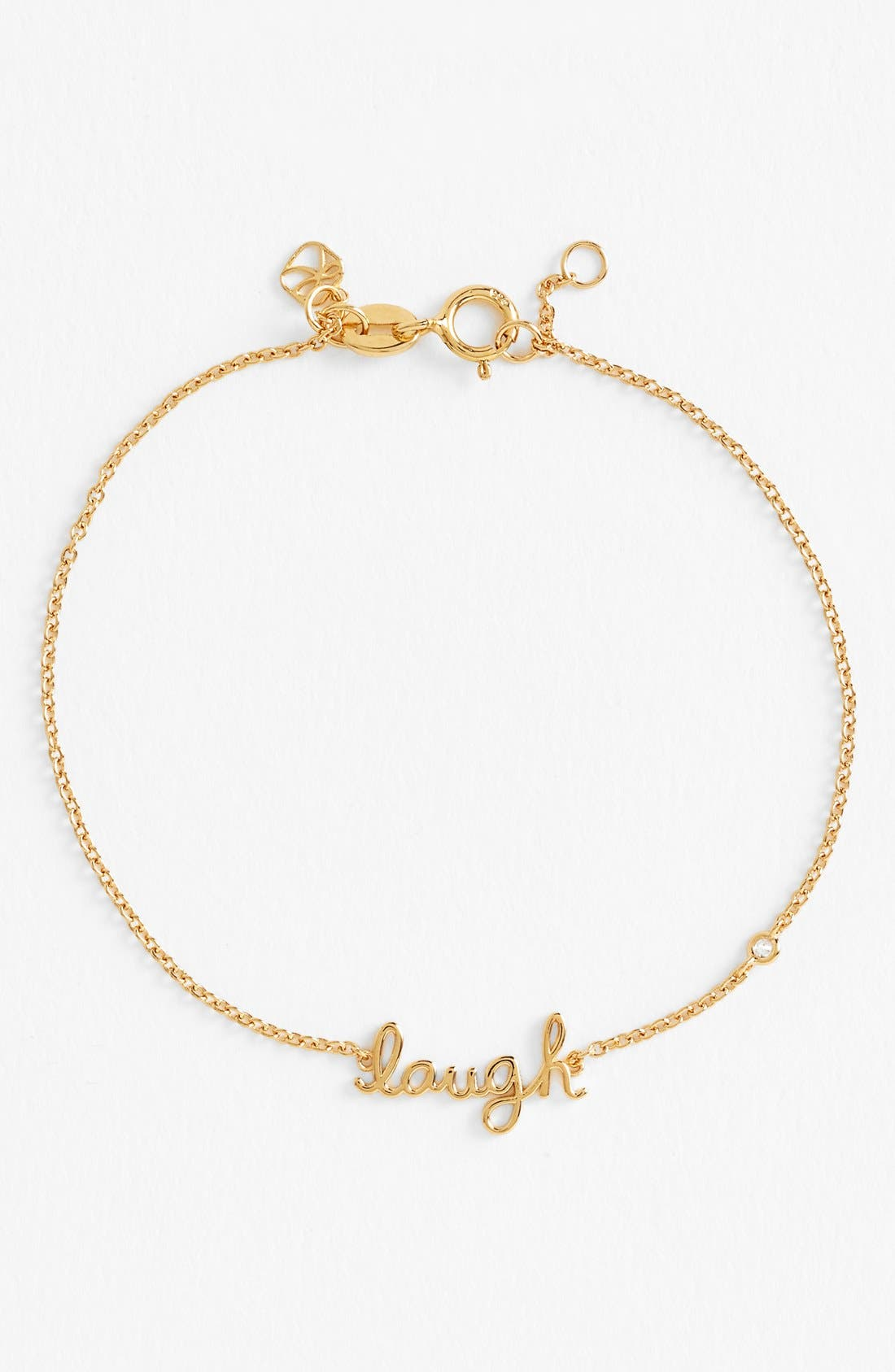 Alternate Image 1 Selected - SHY by Sydney Evan 'Laugh' Bracelet