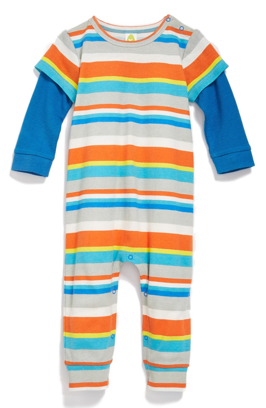 Main Image - Stem Baby Organic Cotton Romper (Baby Boys) (Nordstrom Exclusive)