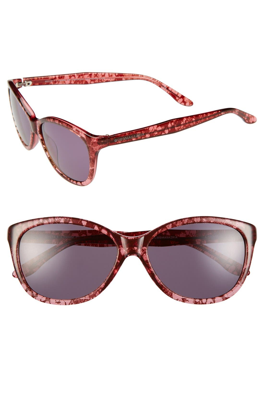 Alternate Image 1 Selected - BCBGMAXAZRIA 'Precious' 53mm Sunglasses