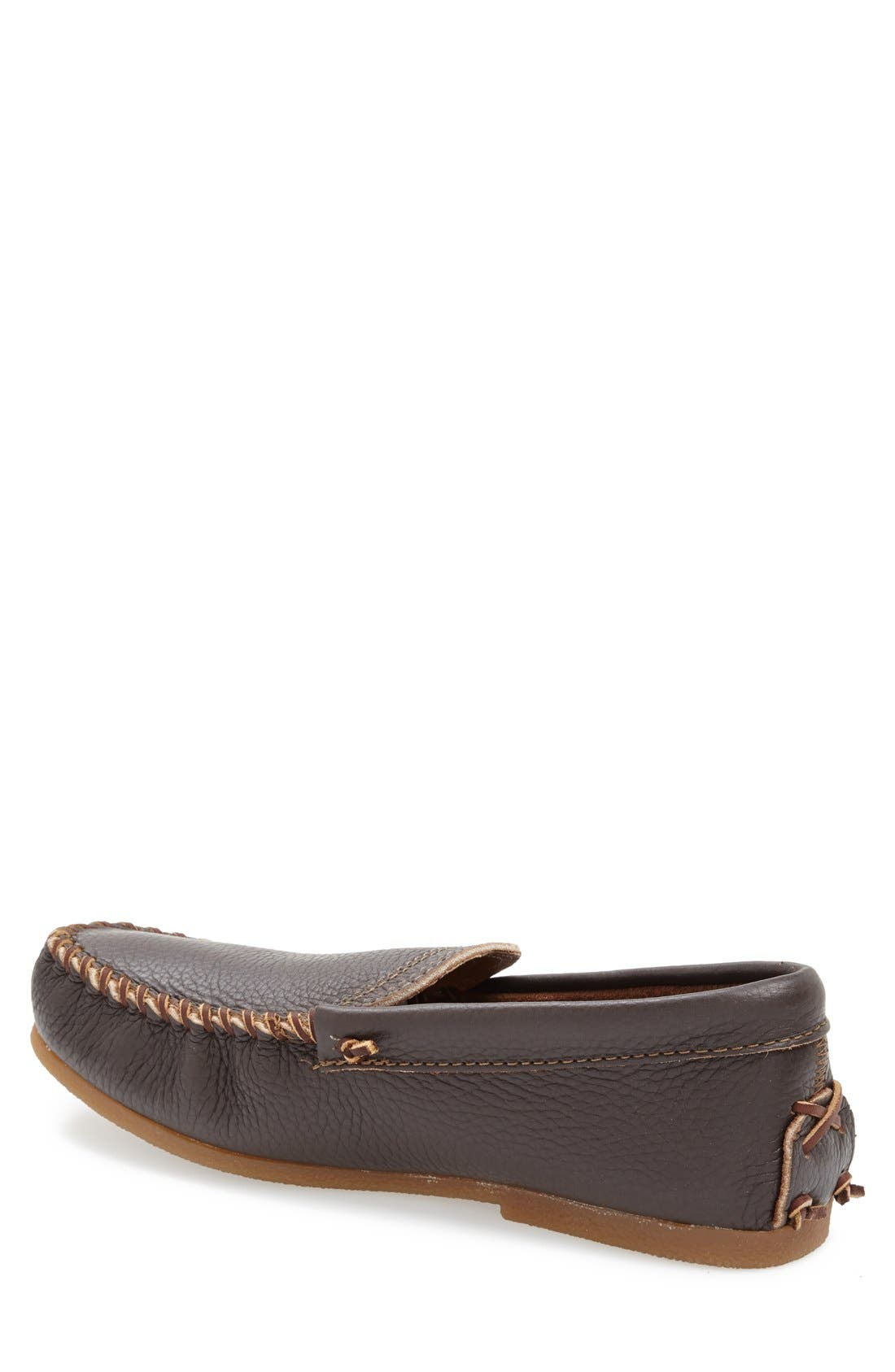 Venetian Loafer,                             Alternate thumbnail 2, color,                             Dark Brown