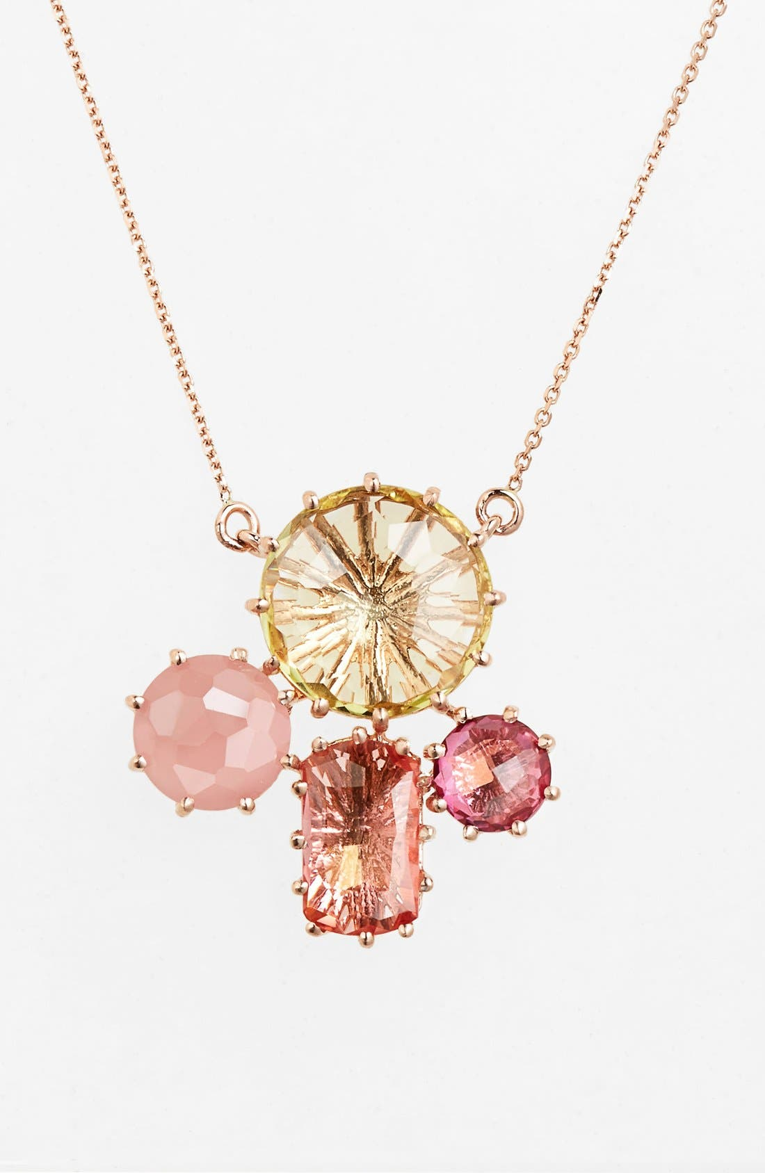 Alternate Image 1 Selected - KALAN by Suzanne Kalan Stone Cluster Pendant Necklace