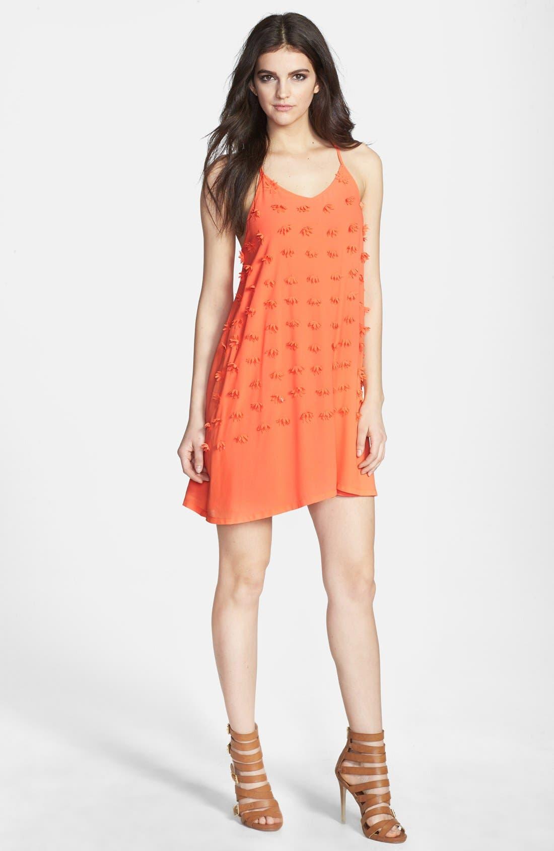 Main Image - I. Madeline Textured Slipdress
