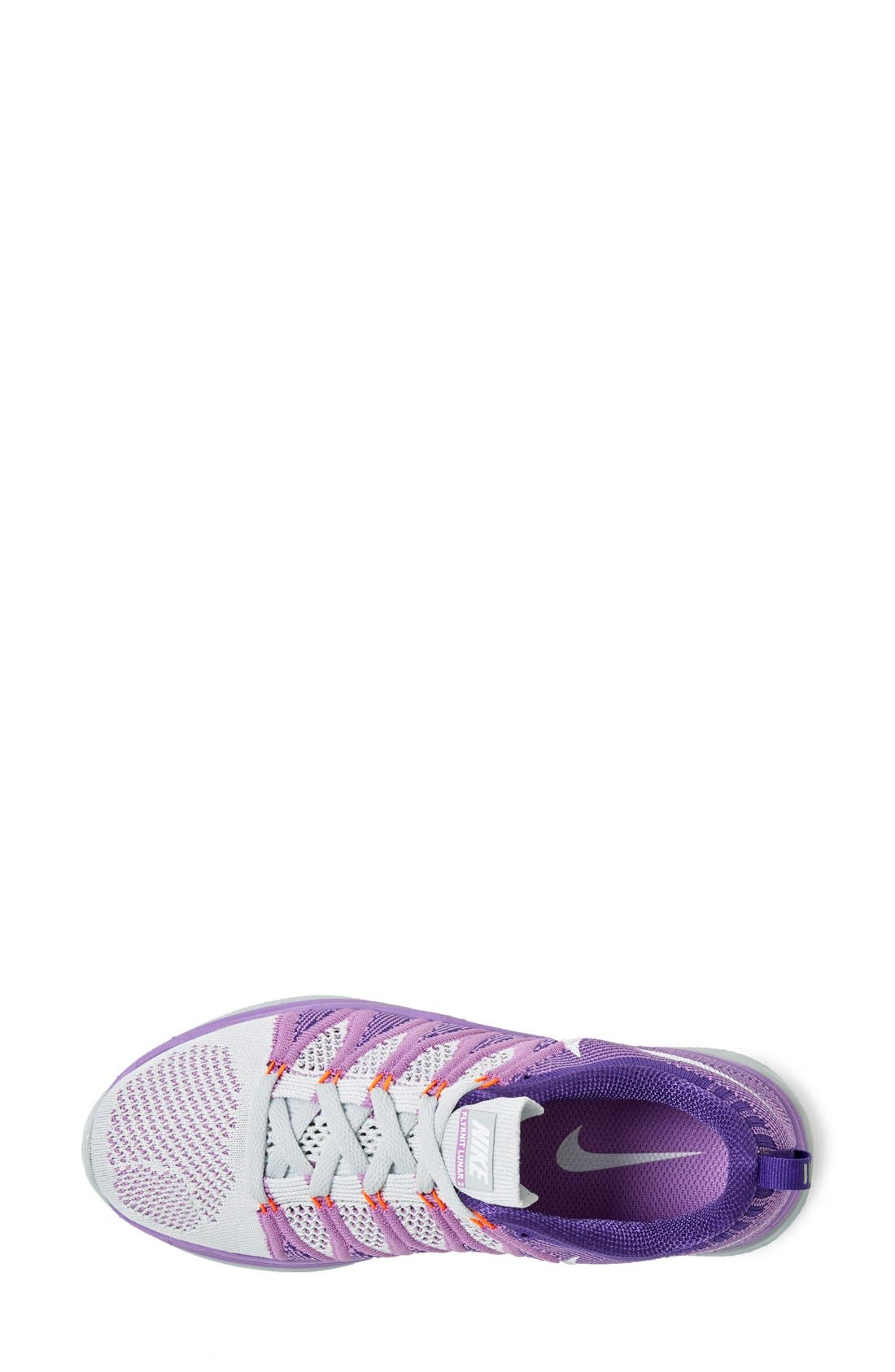Alternate Image 3  - Nike 'Flyknit Lunar2' Running Shoe (Women)