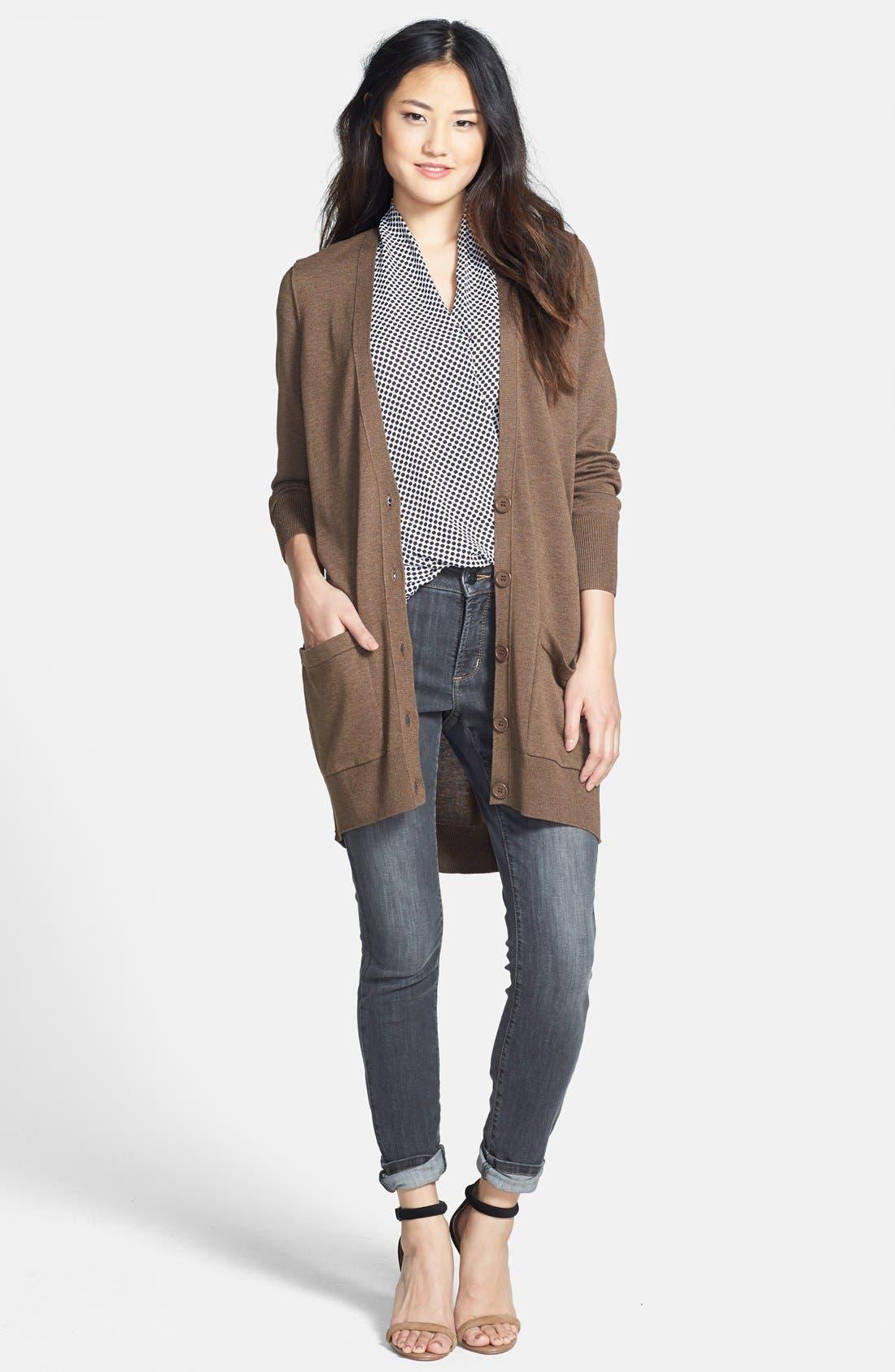 Alternate Image 8  - NYDJ 'Ami' Stretch Skinny Jeans (Dakota) (Regular & Petite)