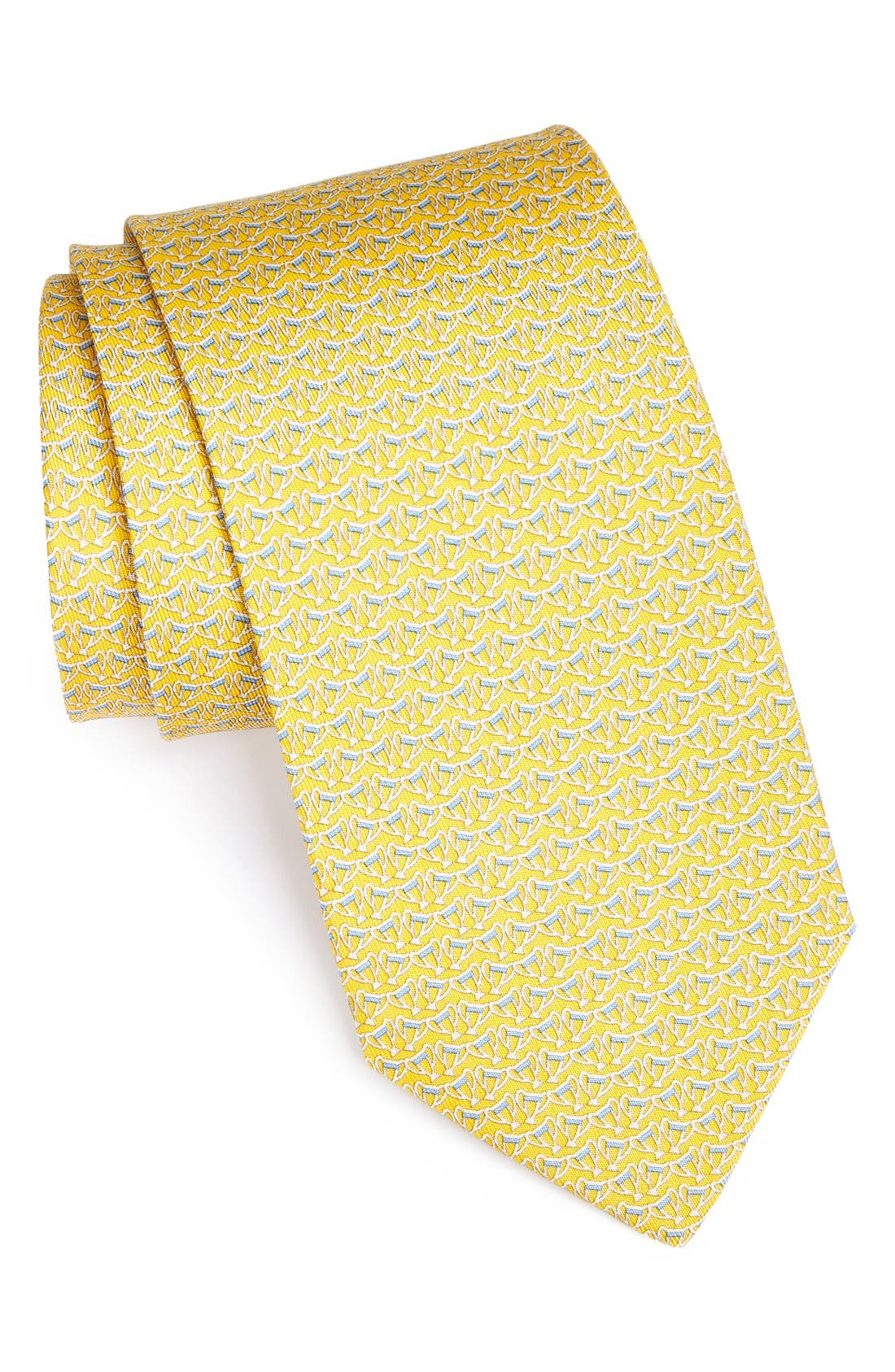 Alternate Image 1 Selected - Salvatore Ferragamo Cup Print Tie