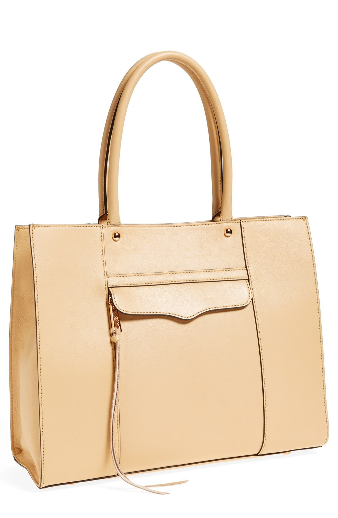 Alternate Image 1 Selected - Rebecca Minkoff 'Medium MAB' Leather Tote