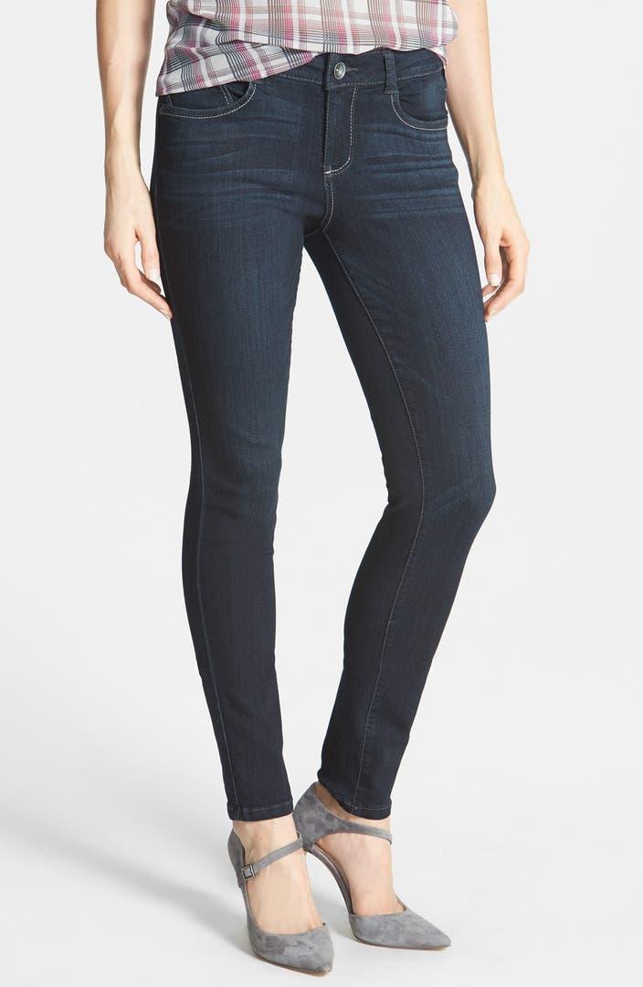 Exclusive Denim Adidas Top Ten 2000 Swaggy P Pes For: Wit & Wisdom Stretch Denim Leggings (Indigo) (Nordstrom