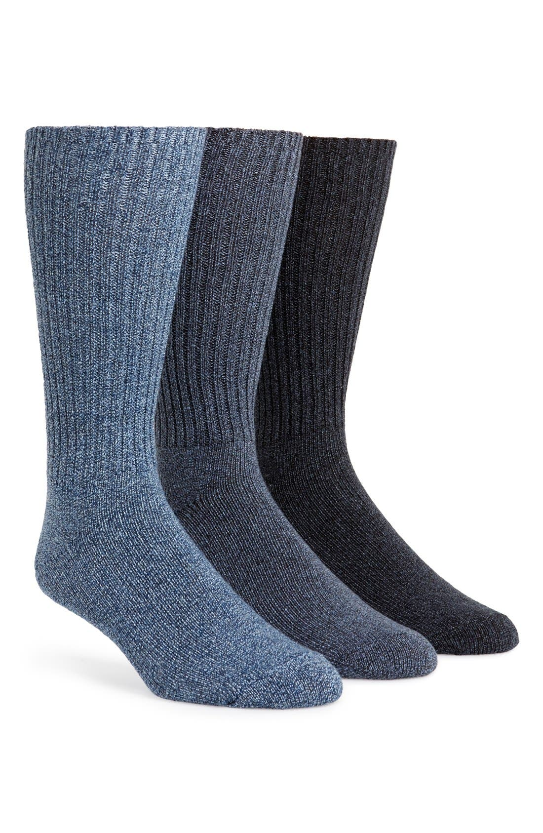 Alternate Image 1 Selected - Calvin Klein 3-Pack Casual Socks