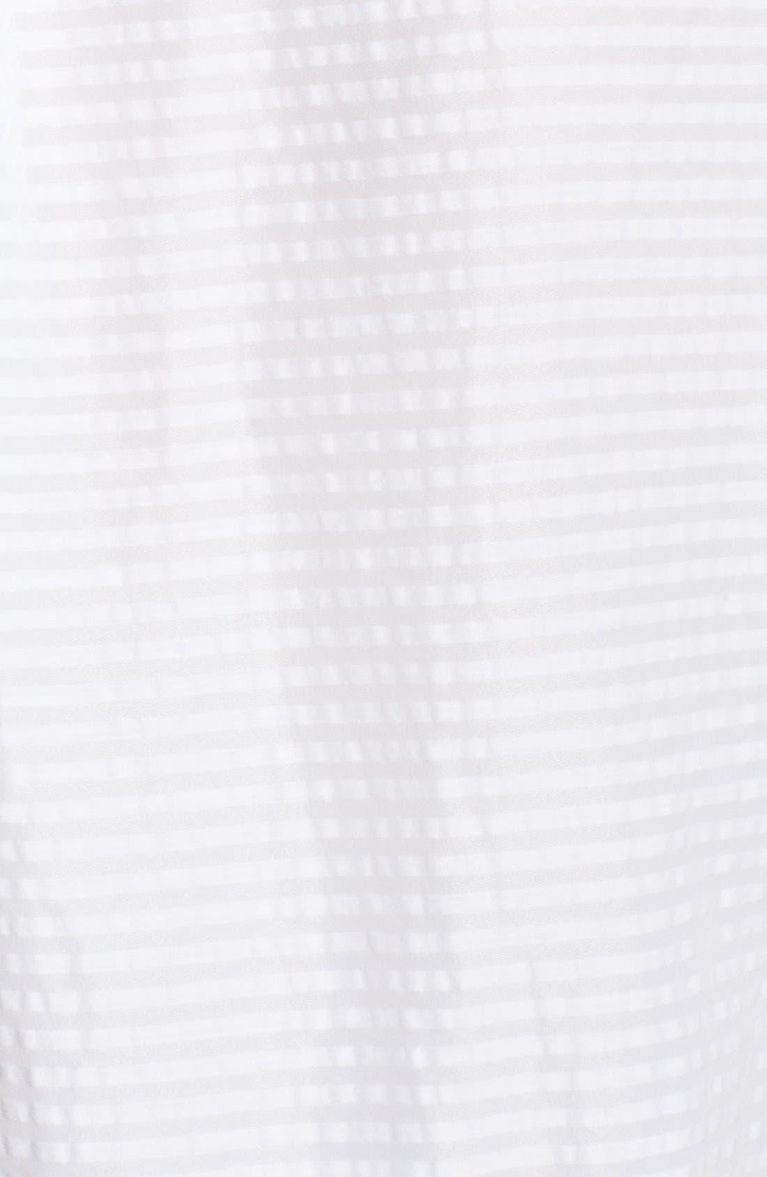 Alternate Image 3  - Burberry Brit Puckered Stripe Blouse