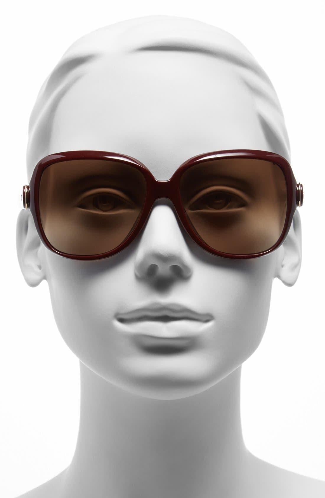 Alternate Image 2  - Chloé 59mm Sunglasses