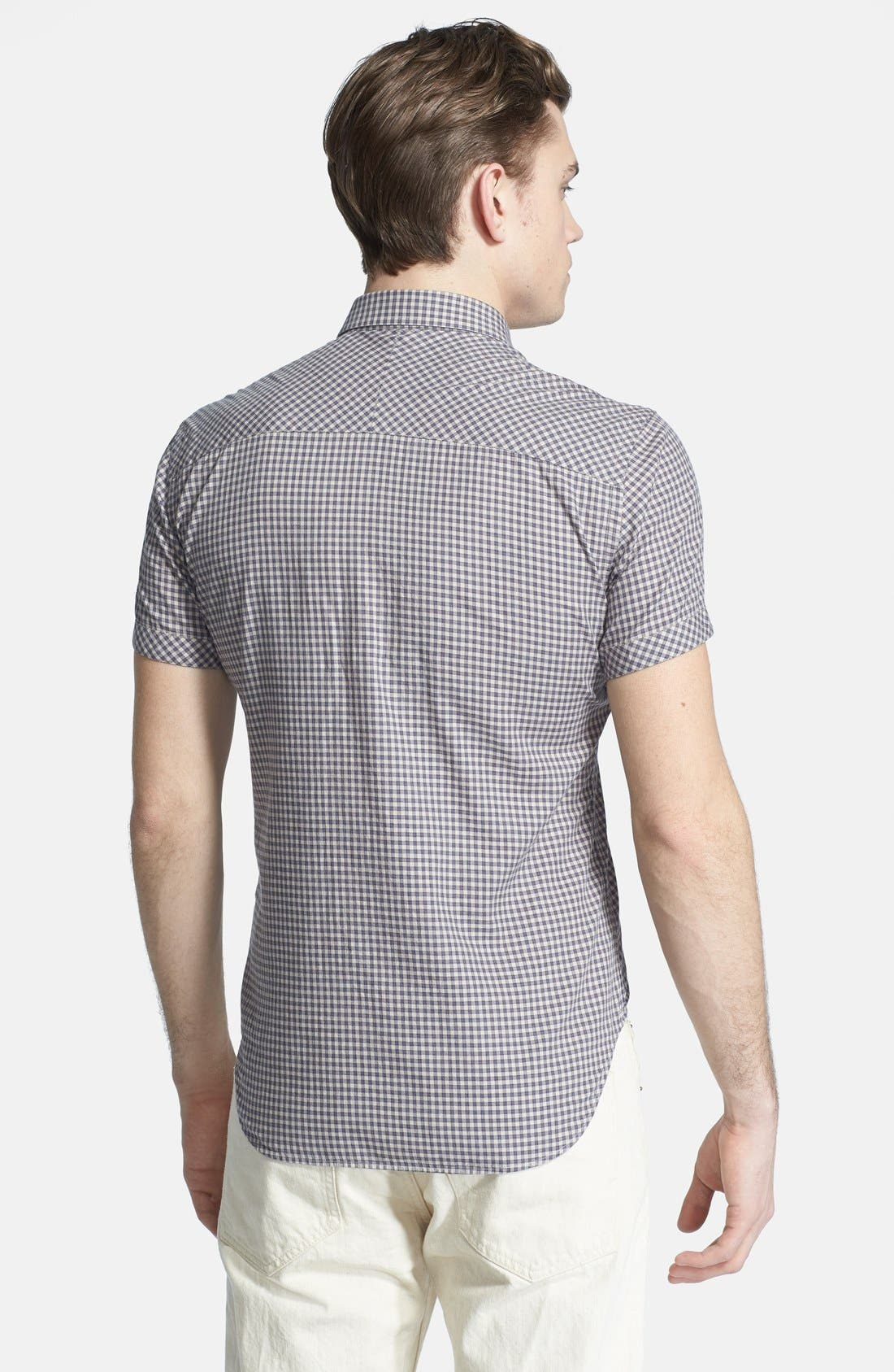 Alternate Image 3  - Billy Reid 'Courtland' Check Short Sleeve Shirt