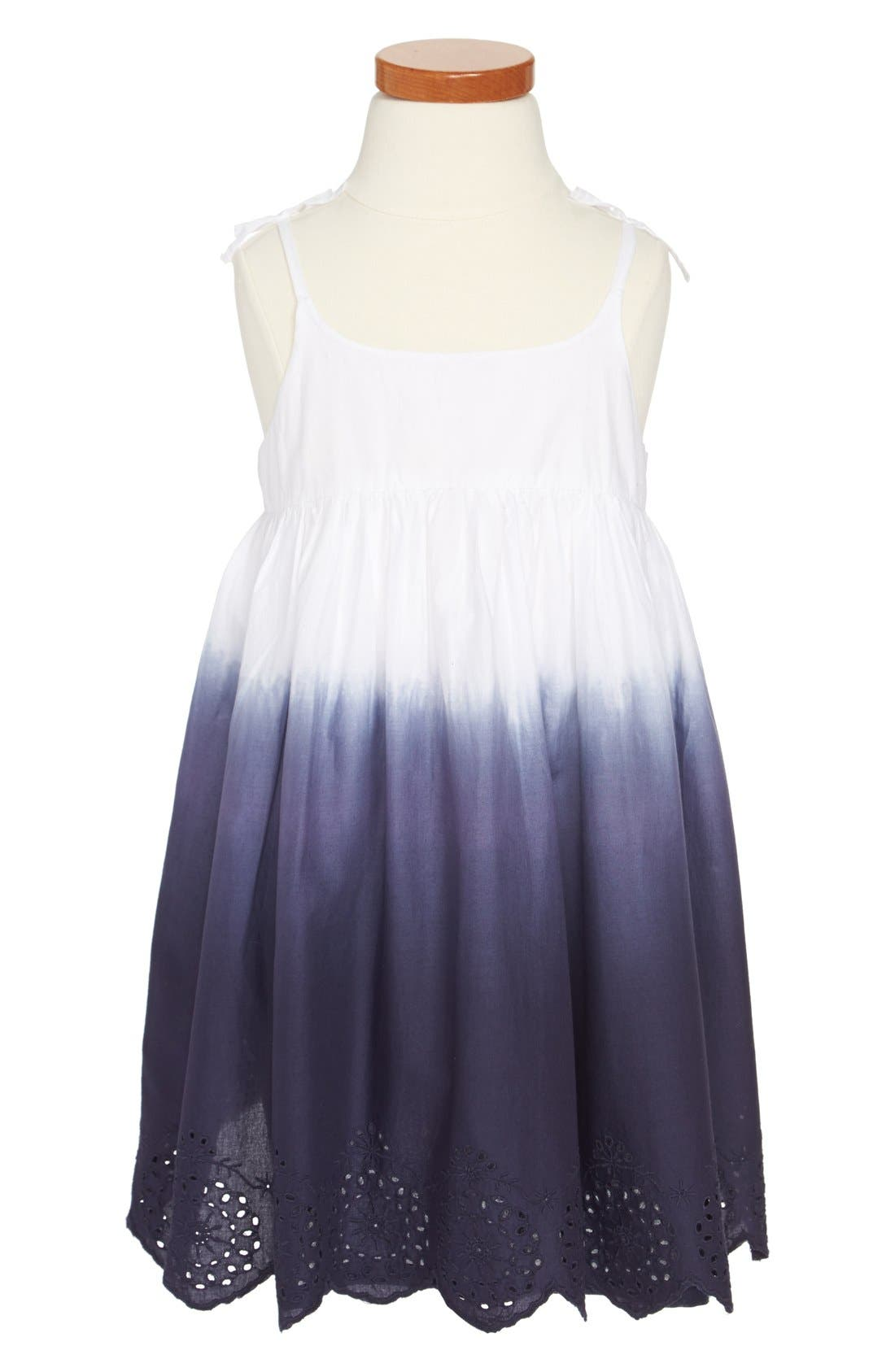 Main Image - Tucker + Tate 'Maya' Sleeveless Dress (Toddler Girls, Little Girls & Big Girls)