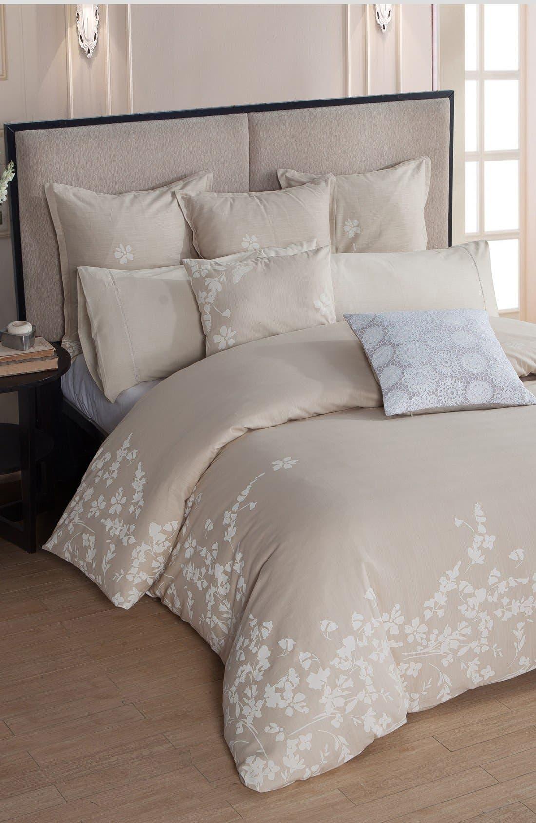 'Laramie' Comforter,                         Main,                         color, Beige