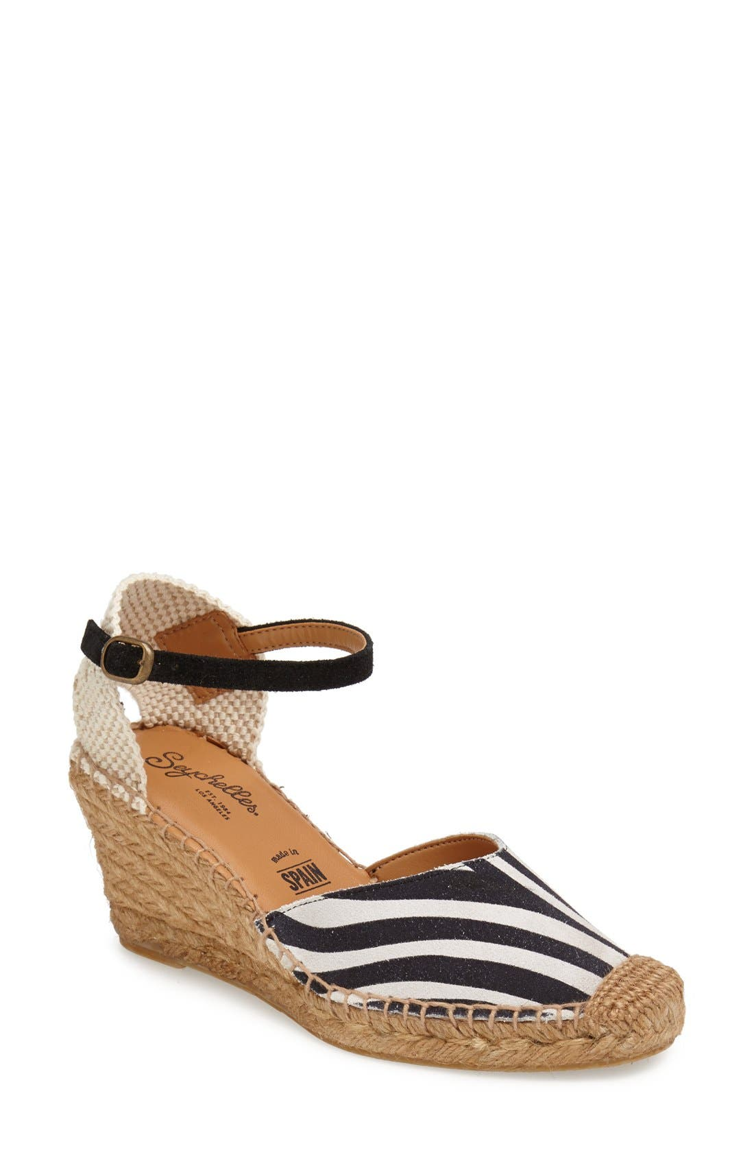 Alternate Image 1 Selected - Seychelles 'Truth Be Told' Espadrille Wedge Sandal (Women)