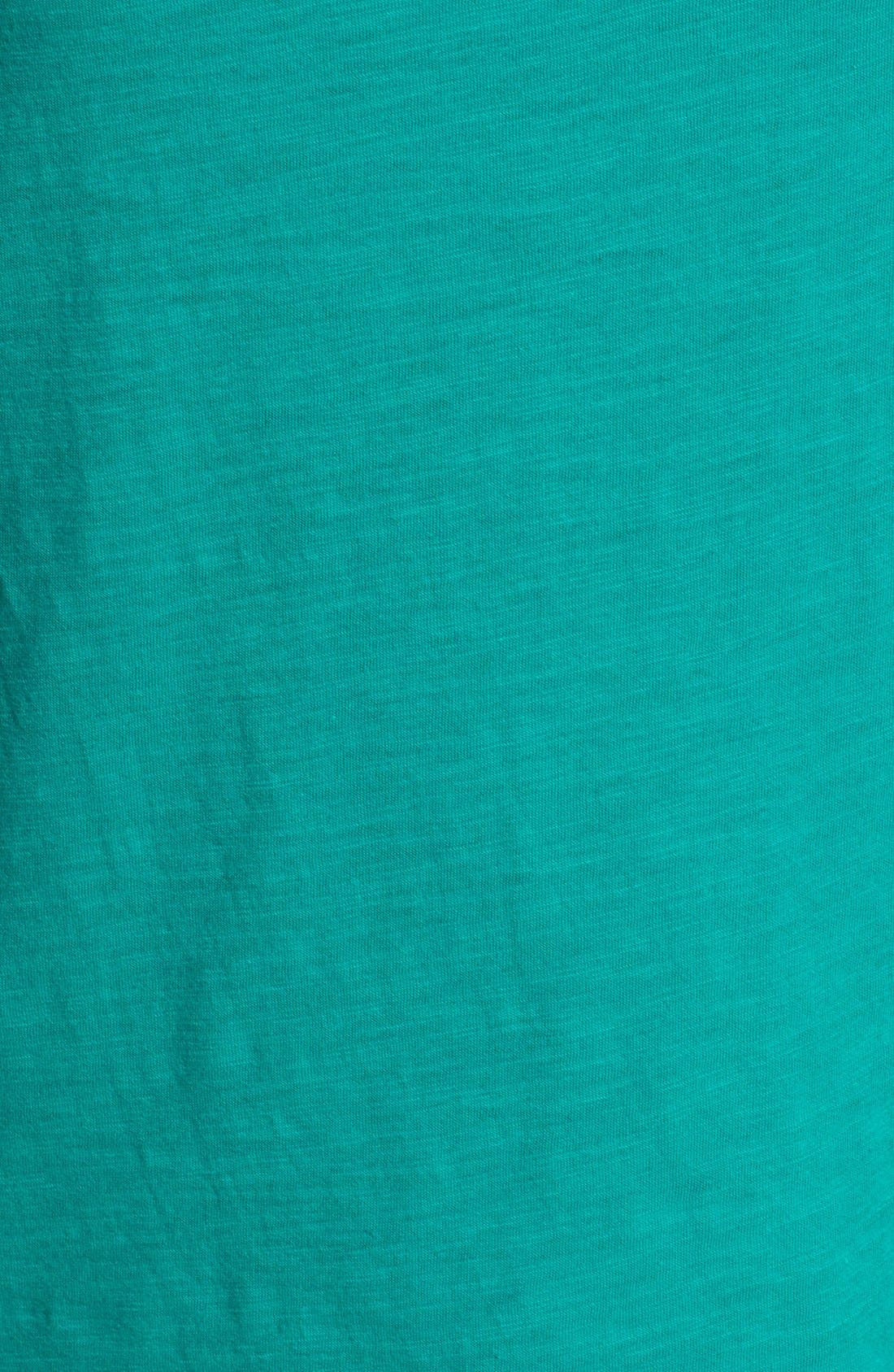Alternate Image 3  - Hinge® Lace Inset Slub Knit Tank