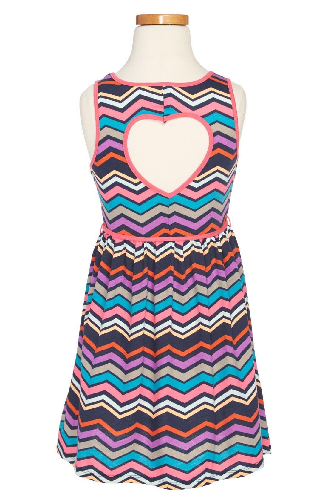 Alternate Image 2  - Roxy 'Sweltering Heart' Tank Dress (Toddler Girls)
