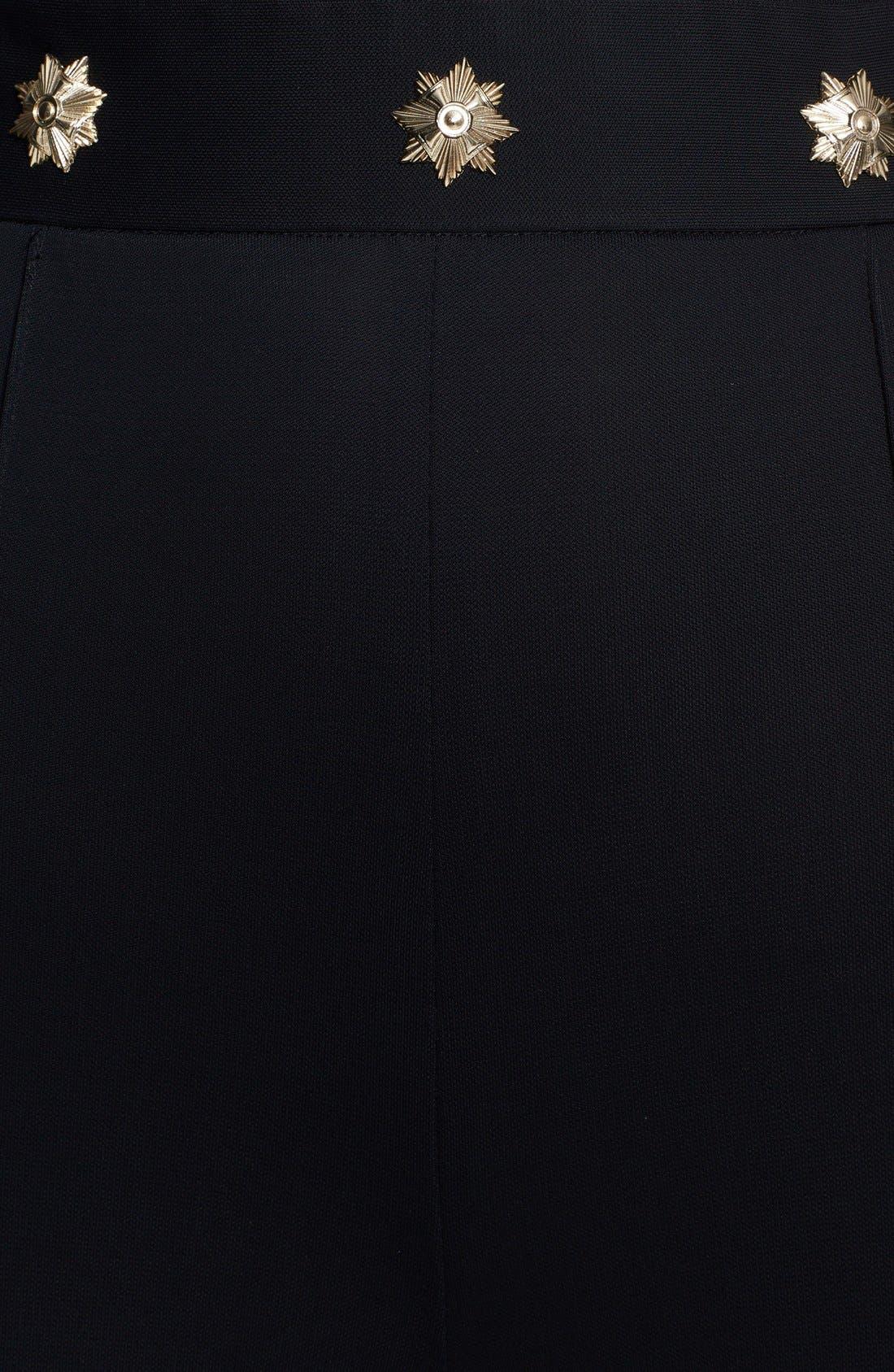 Alternate Image 3  - Versace Collection Crepe Jersey Halter Jumpsuit