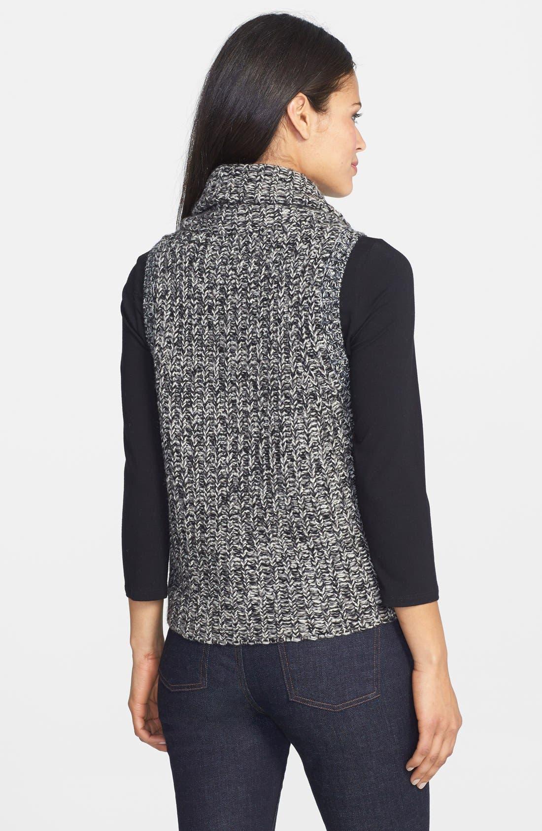 Alternate Image 2  - Eileen Fisher Merino & Yak Wool Sweater Vest (Regular & Petite)