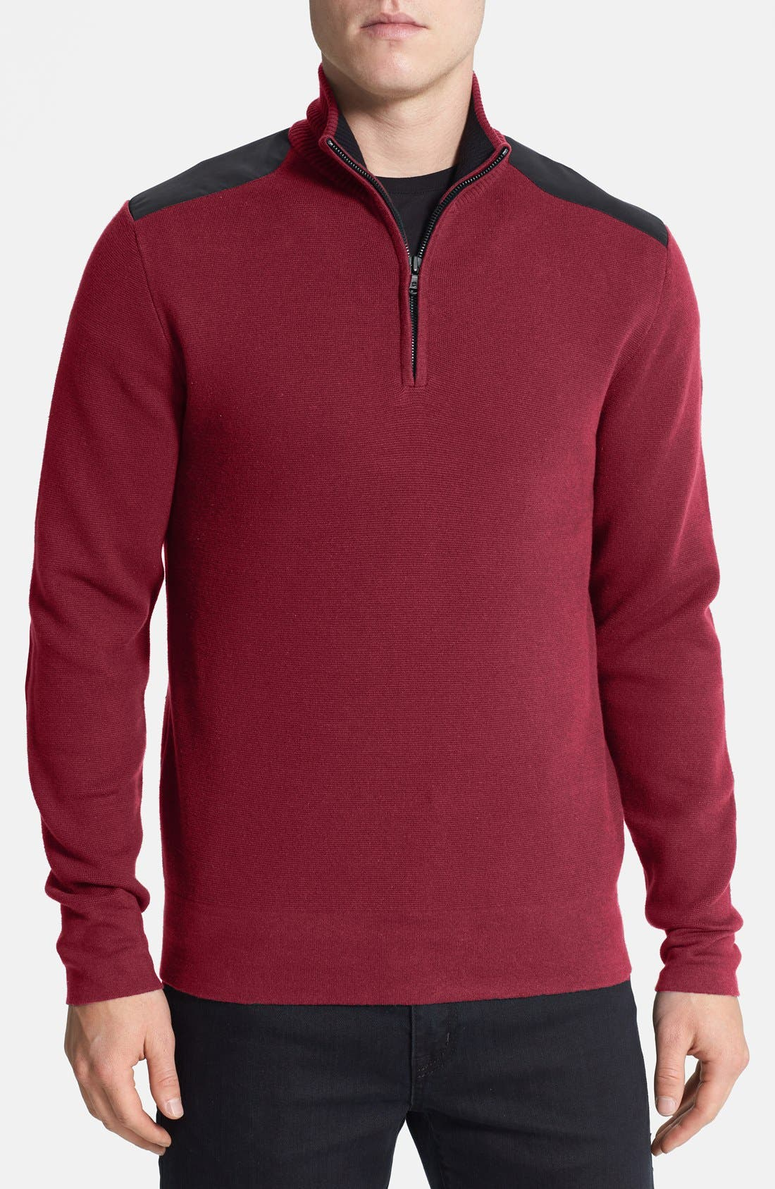 Alternate Image 1 Selected - Victorinox Swiss Army® 'Maverick' Tailored Fit Half Zip Sweater (Online Only)