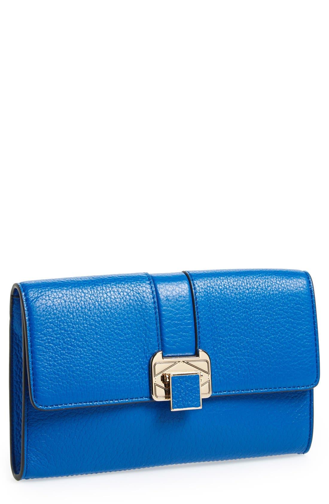 Clutch,                         Main,                         color, Bright Blue