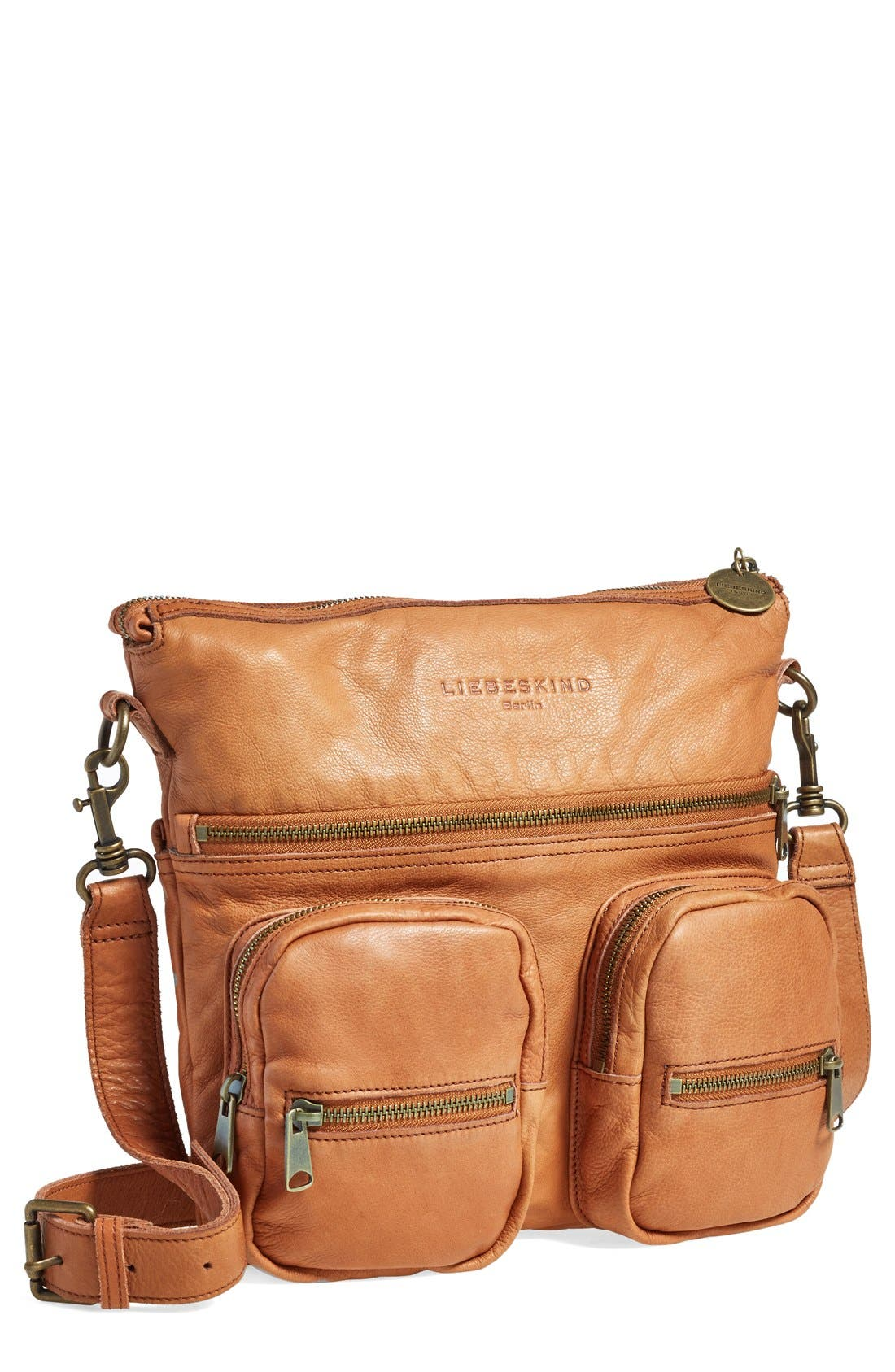 Alternate Image 1 Selected - Liebeskind 'Anny' Leather Crossbody Bag